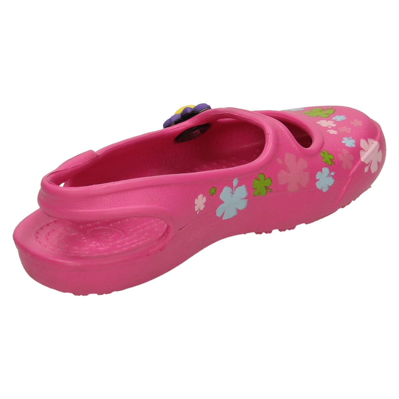 359b323f4 Girls-Crocs-Gabby-Flowers-Slip-On-Sandals thumbnail 7