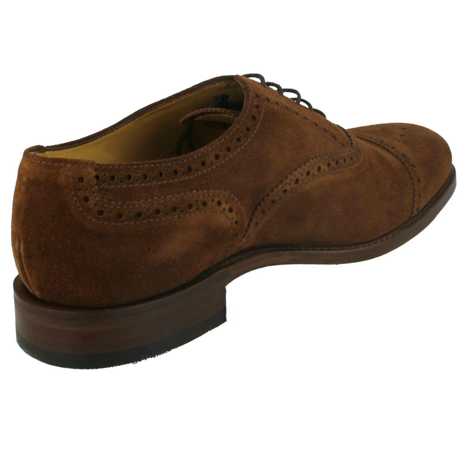 Da Uomo Loake SMART pelle-Tweed scarpe di pelle-Tweed SMART 2 26de60