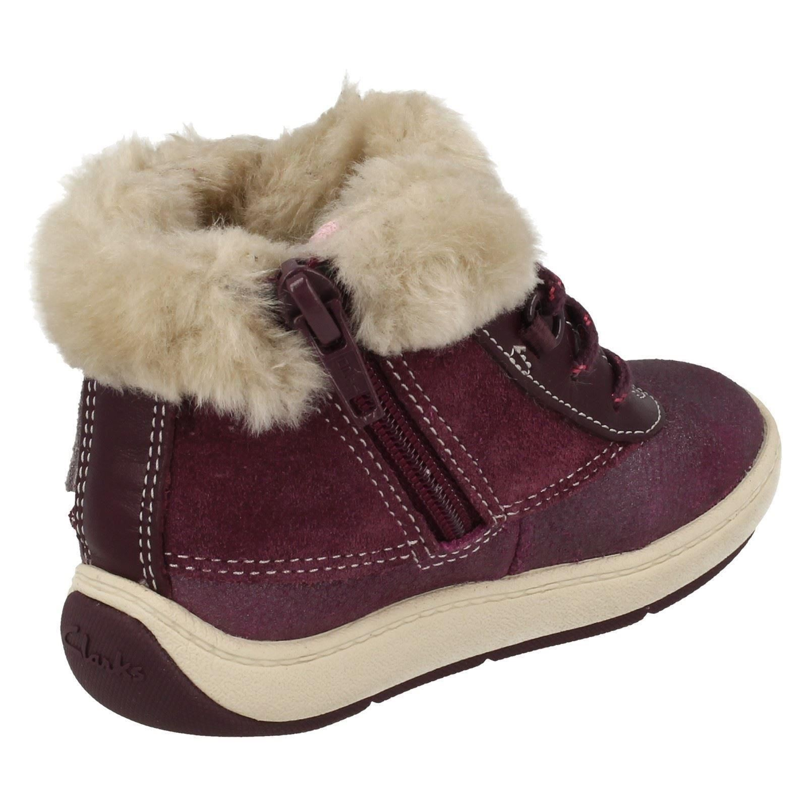 Clarks Girls Ankle Boots - Maxi Fun Fst