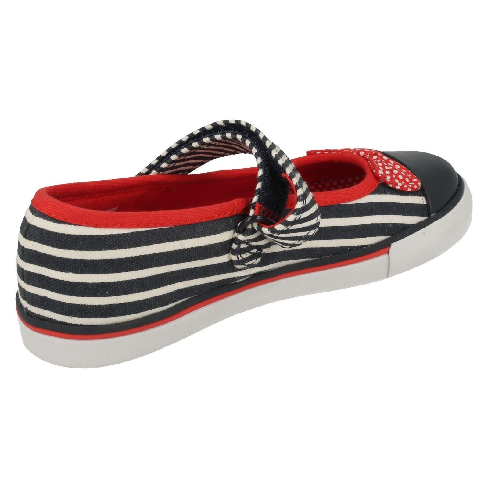 Girls Clarks Washable Canvas Shoes Gracie Joy