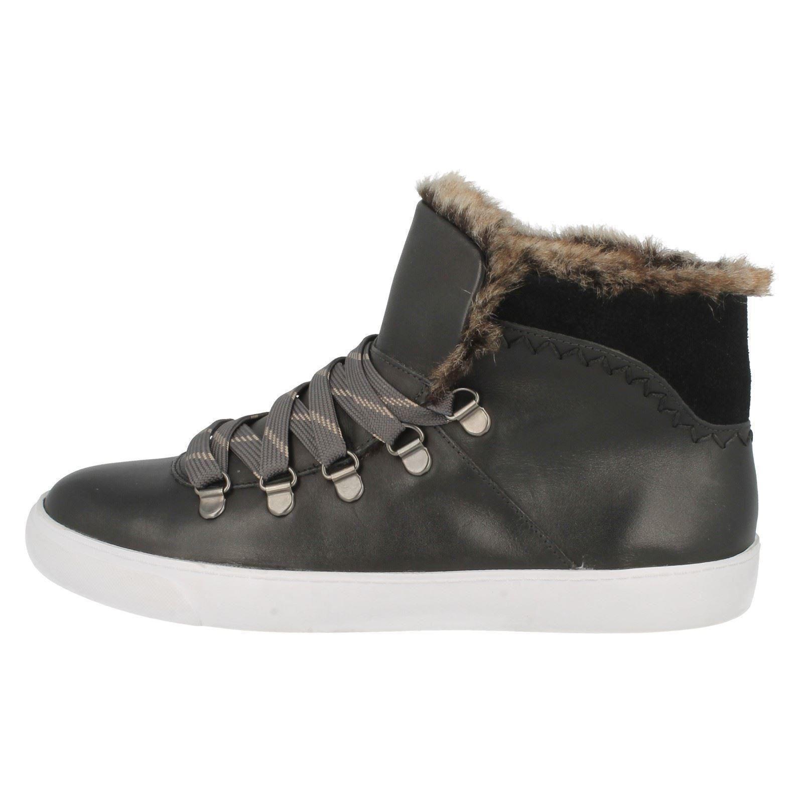 Maribel Hi Glove top deportivas Zapatillas Clarks Señoras negras HtxwUq5C