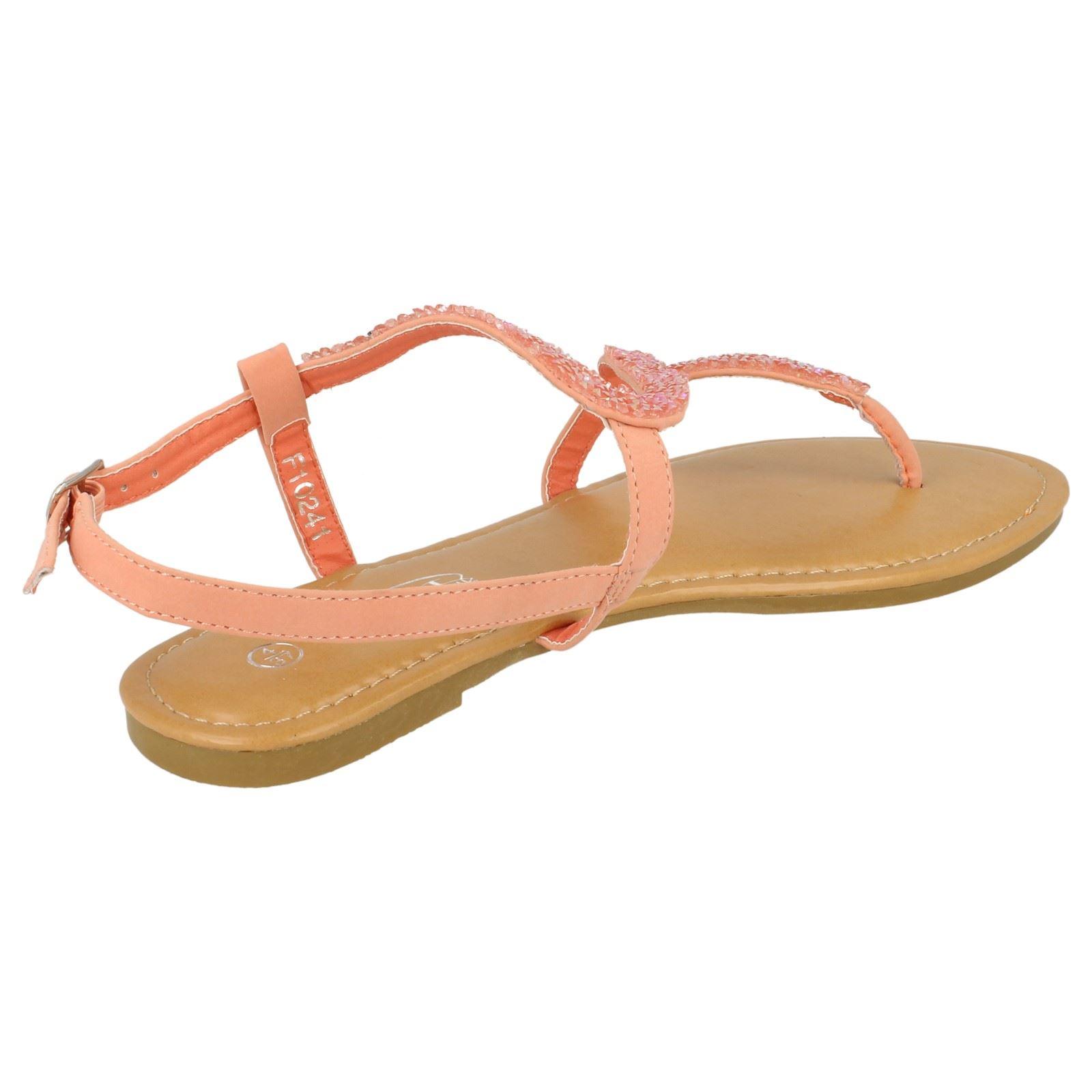 Spot-On-Donna-Open-Toe-Paillettes-Ondulato-Sandali miniatura 28