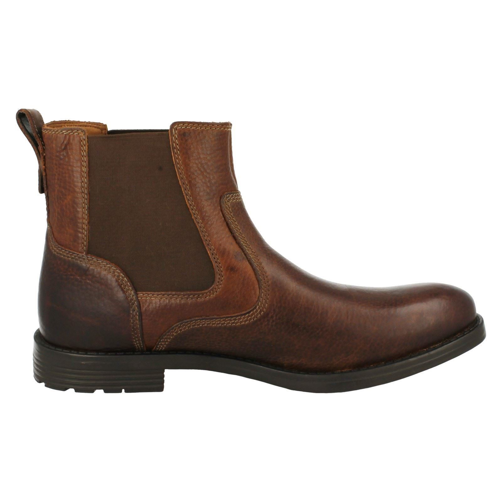 On Uomo Clarks Casual Pull On  Stiefel 'Faulkner On' aa6083