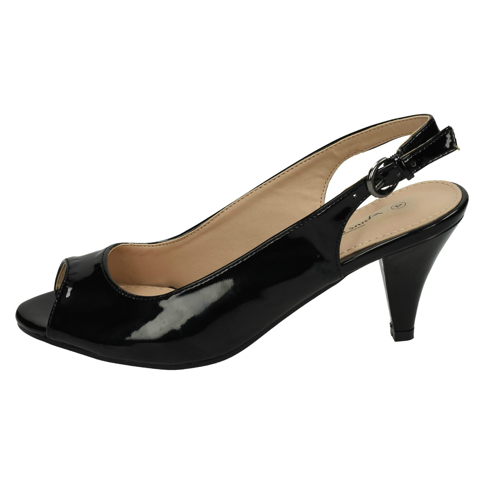 Ladies F10592 5710 Peep Toe Sling Back Court Shoe By Anne Michelle £16.99