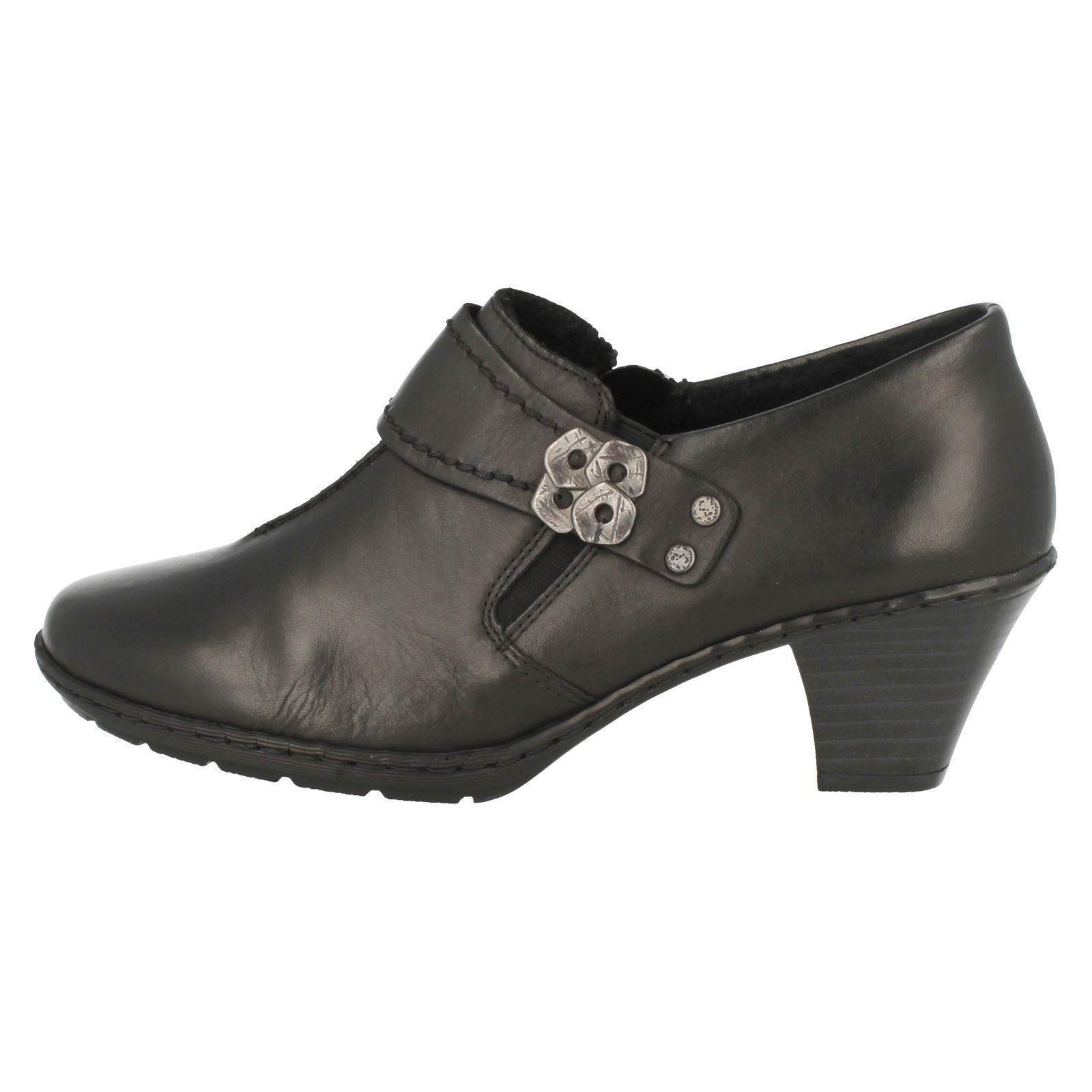 Descuento barato Ladies Rieker Smart Trouser Shoes 57152