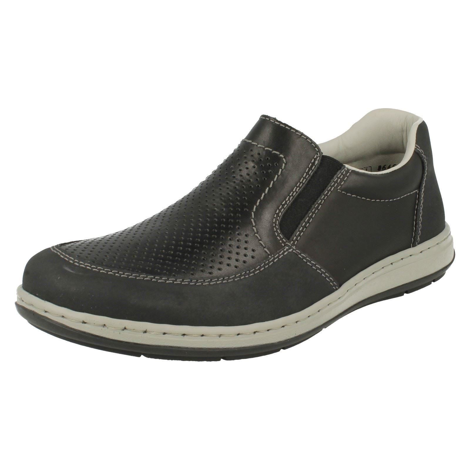 Mens Rieker Casual Slip On Shoes 17357