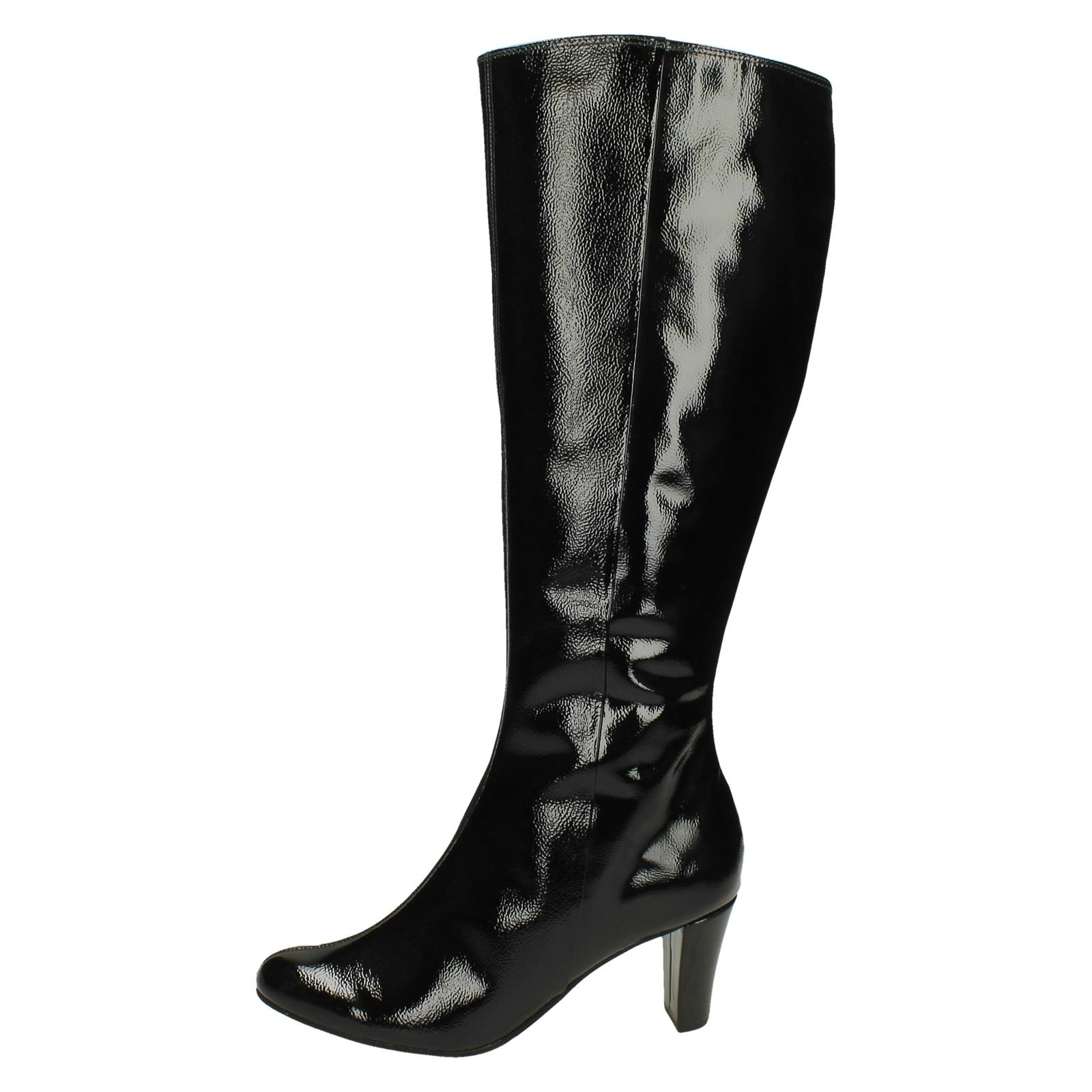 Grandes zapatos con descuento Ladies Van Dal Zip Up Long Boots Cromwell