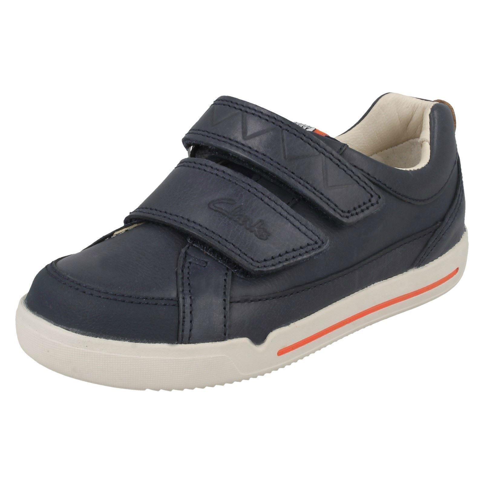 Chicos Clarks Zapatos Informales Correa Doble * Lil Folk Toby *