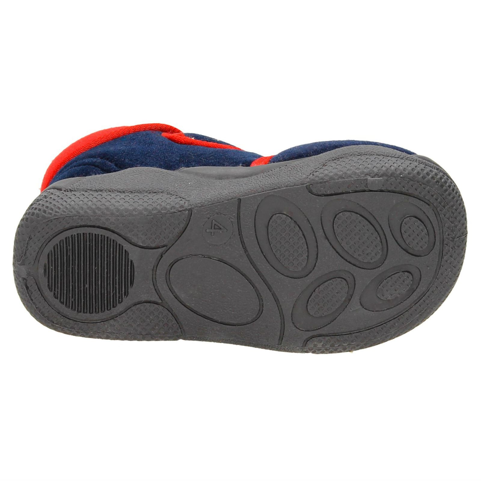 Boys Clarks Hook & Loop Slippers Longhaul