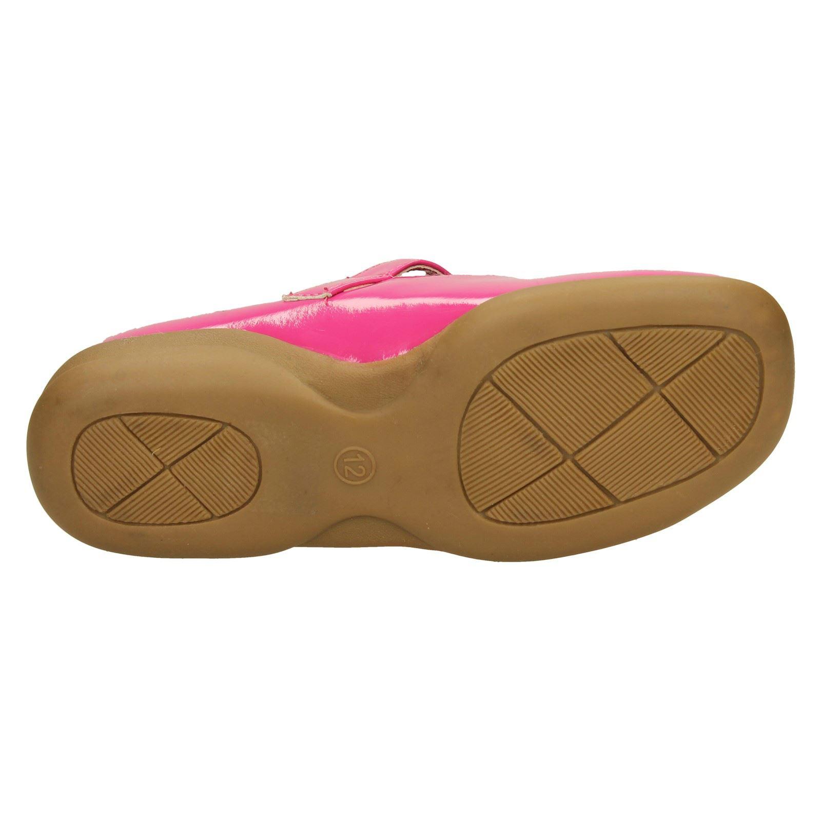 Niñas Punto en T-Bar Zapatos Planos