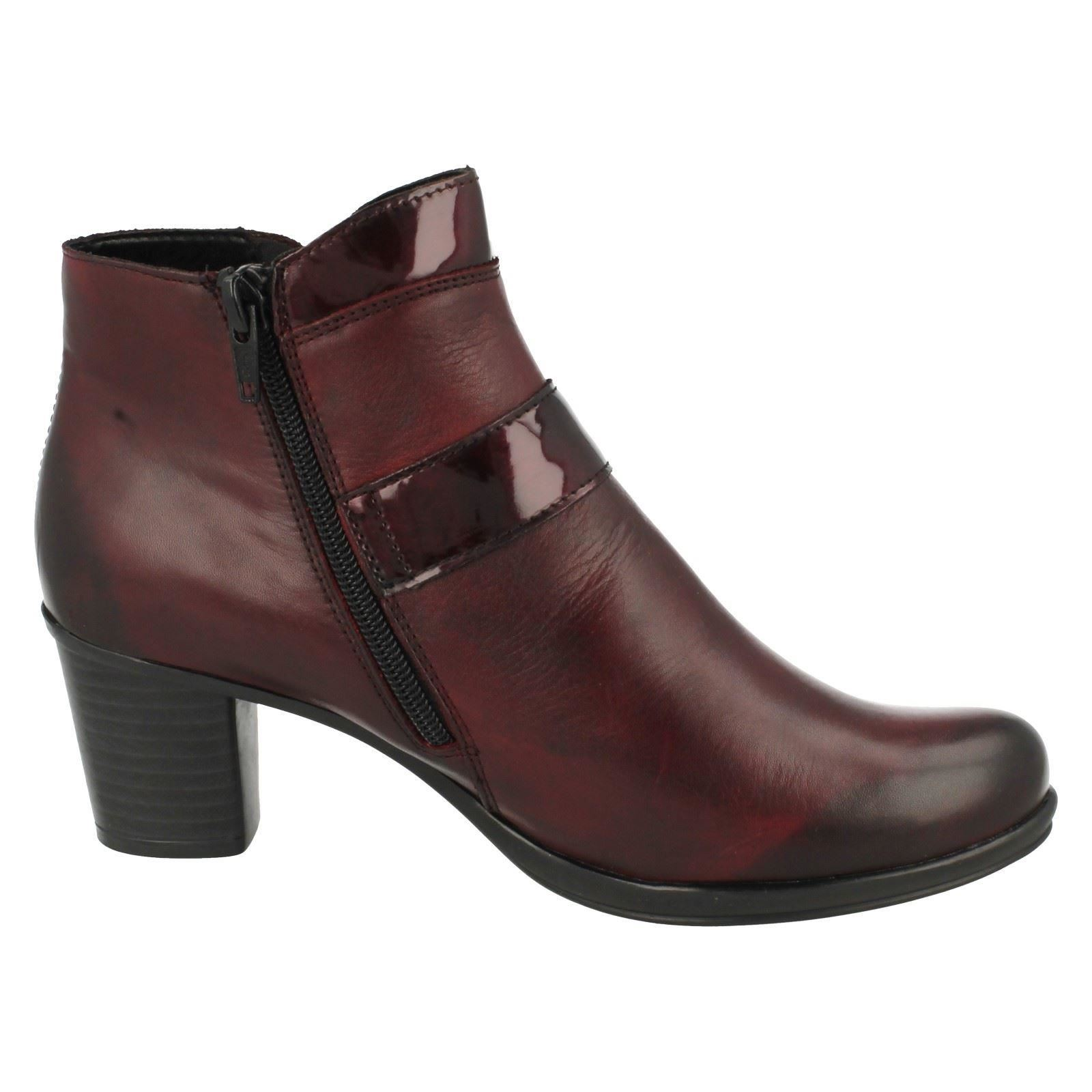 Ladies-Remonte-Warmlined-Leather-Low-Heel-Ankle-Boots-039-R1571-039