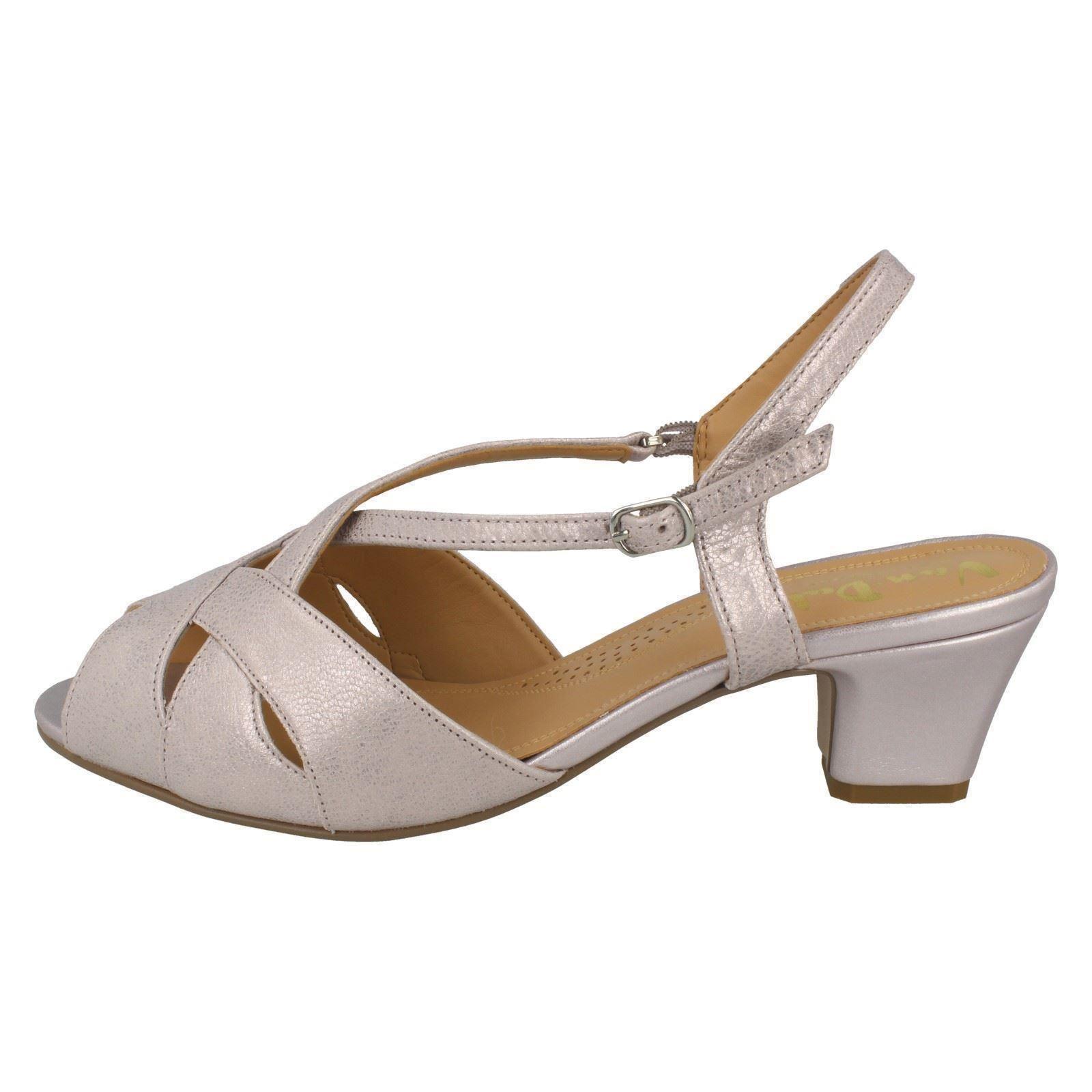 3df30ca5ca254 Van DAL Libby II Wide Fit Sandals Bamboo Metallic 6 for sale online ...