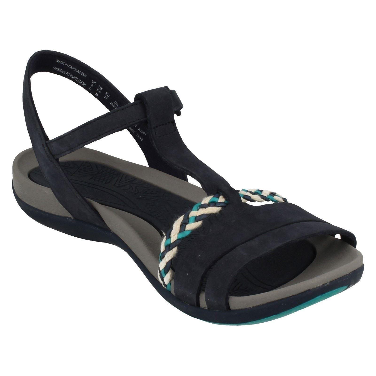 2737ae05e20f Ladies-Clarks-Casual-Summer-Sandals-Tealite-Grace thumbnail 21