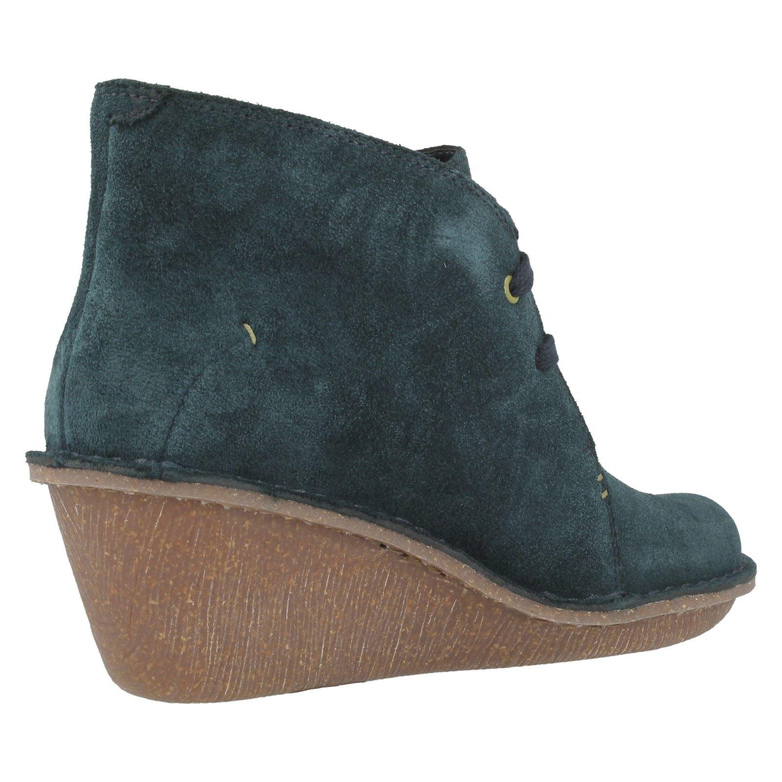 clarks wedge boots marsden ebay