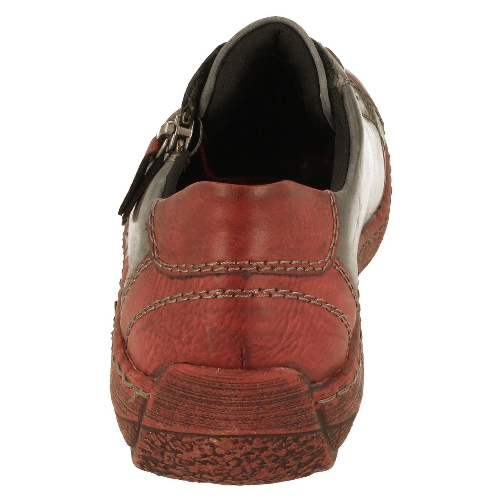 Shoes Blue D3808 Combination Remonte blu Ladies FTqUwC