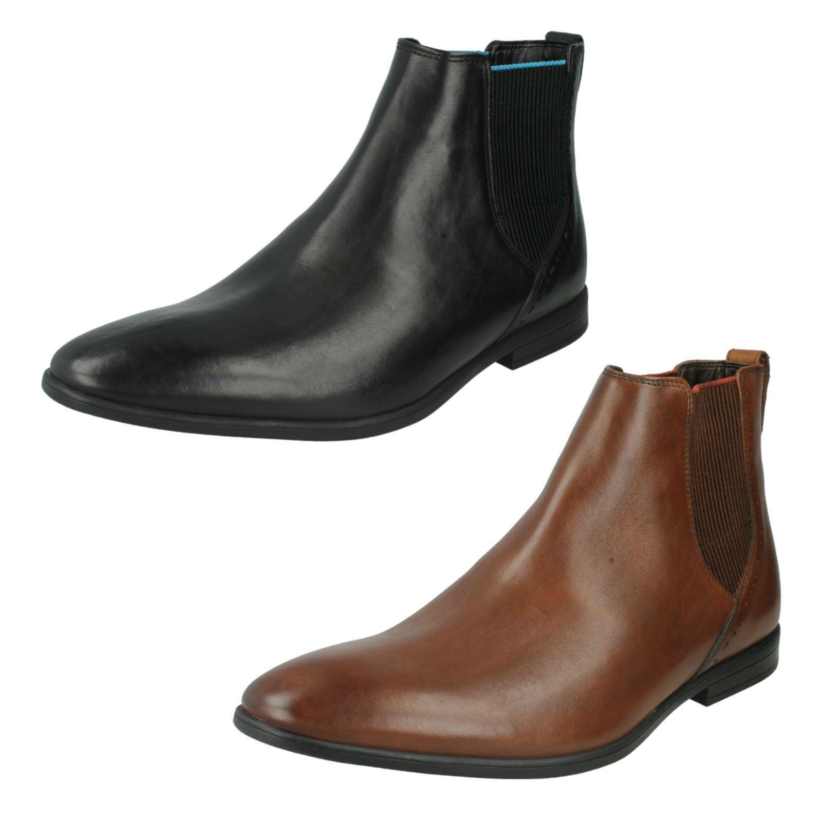 Men's Clarks Formal Chelsea Boots