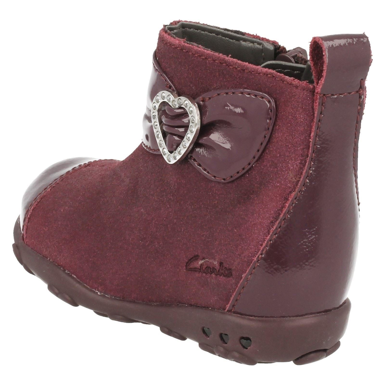 Girls Clarks Ankle Boots Ella Lady