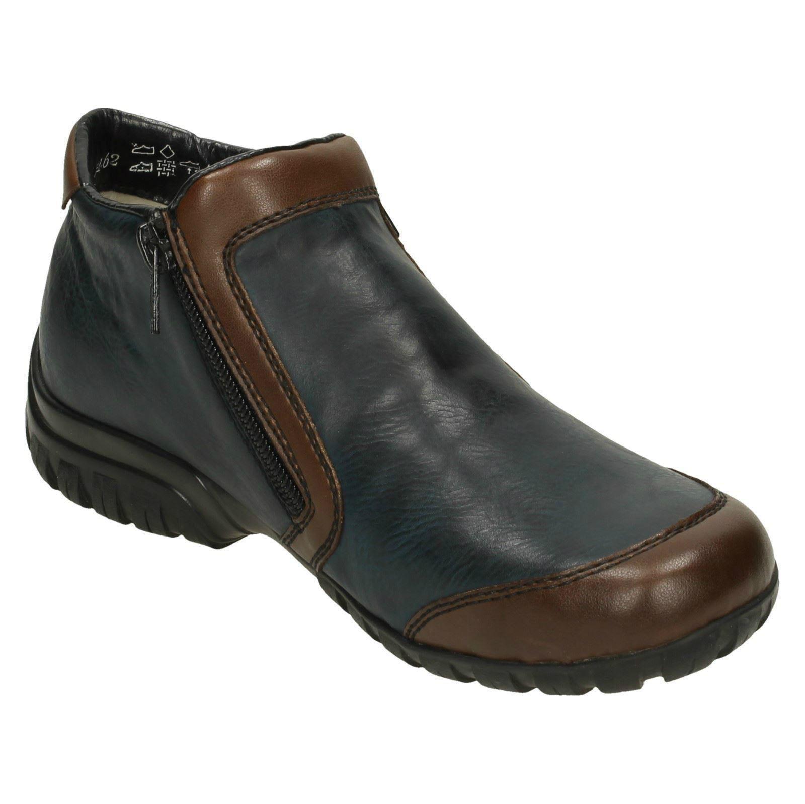 Damas Damas Damas Rieker botas al Tobillo 'L4659' 0b2d79
