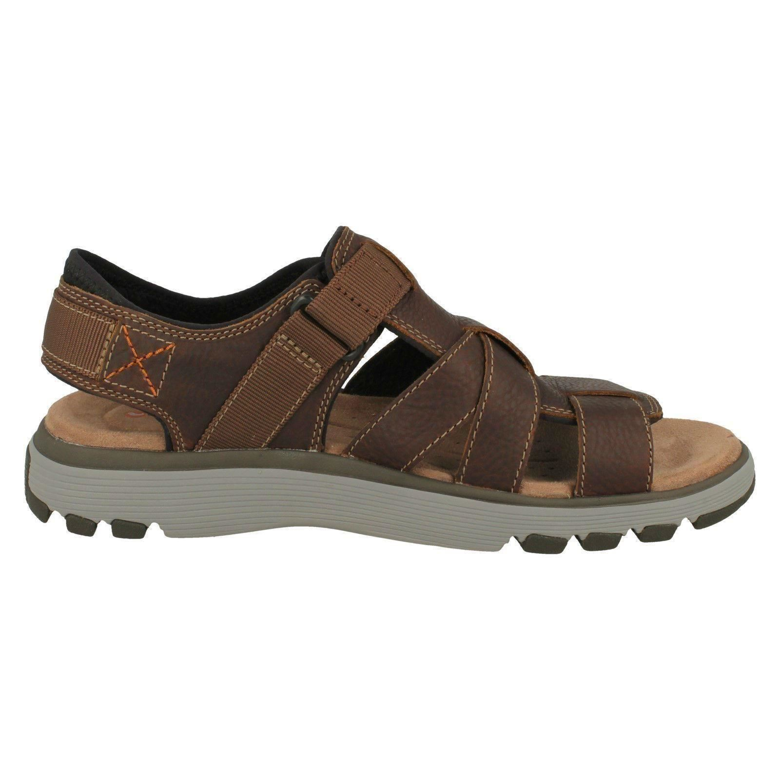 Mens Clarks Casual Open Toe Sandals Un Trek Cove