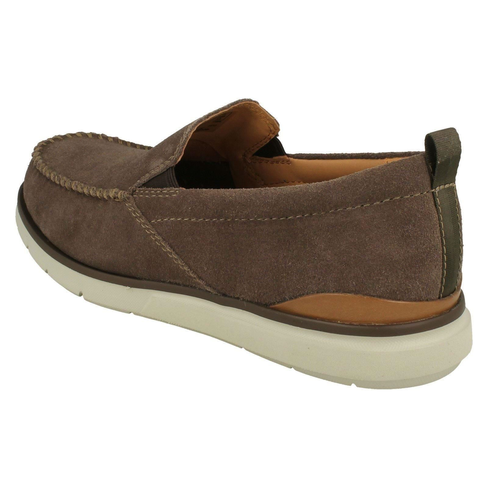 Mens Clarks Casual Slip On Shoes 'Edgewood Step'