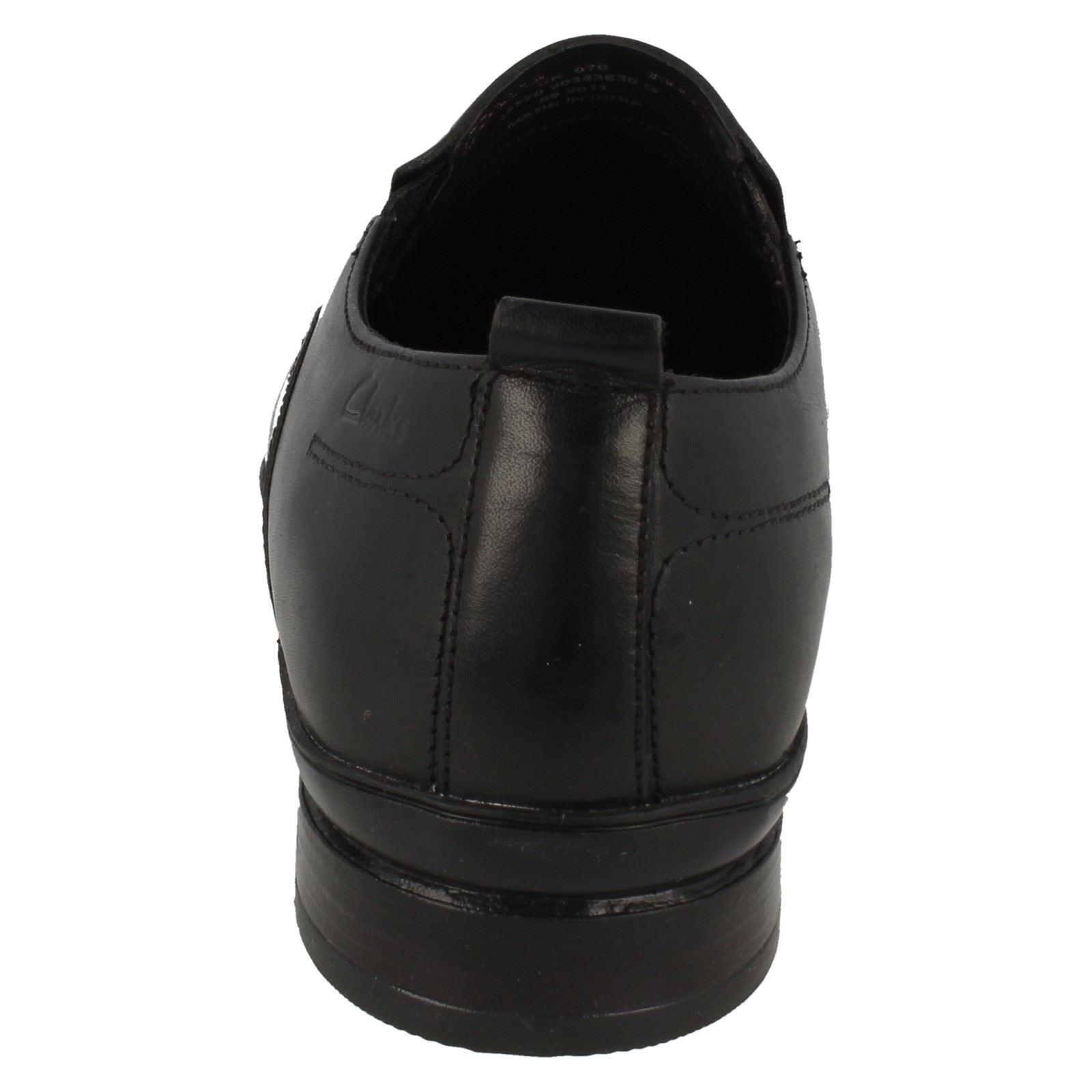 Para hombres Slip Cuero Clarks Cuadrado Toe Slip hombres On Formal Zapatos Flix Llama df03eb