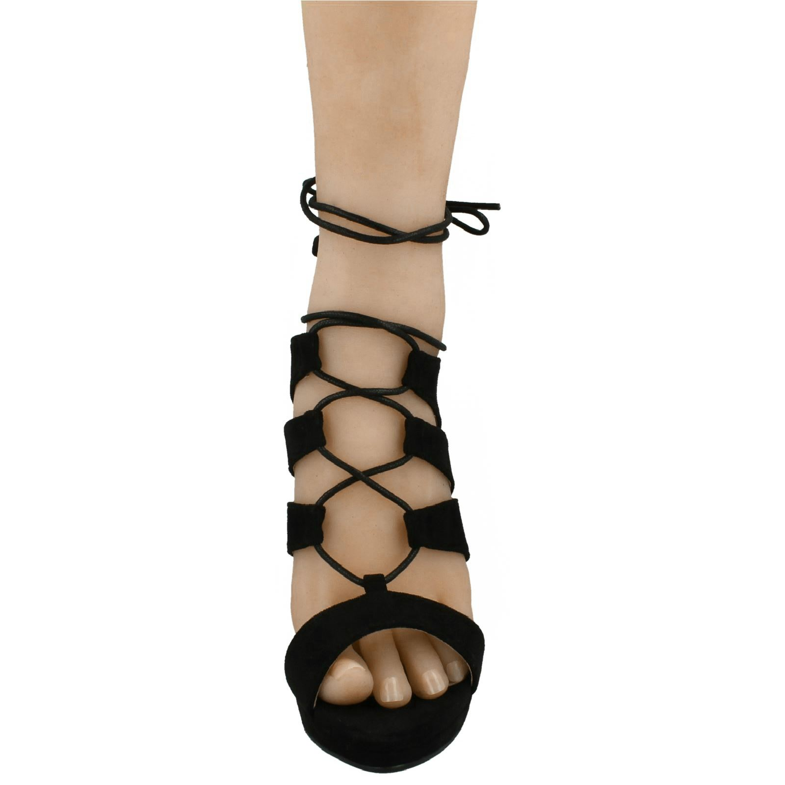 Ladies-Anne-Michelle-Elegant-Lace-Up-Heel-Sandals-Evening-Prom-Party-039-F10550-039