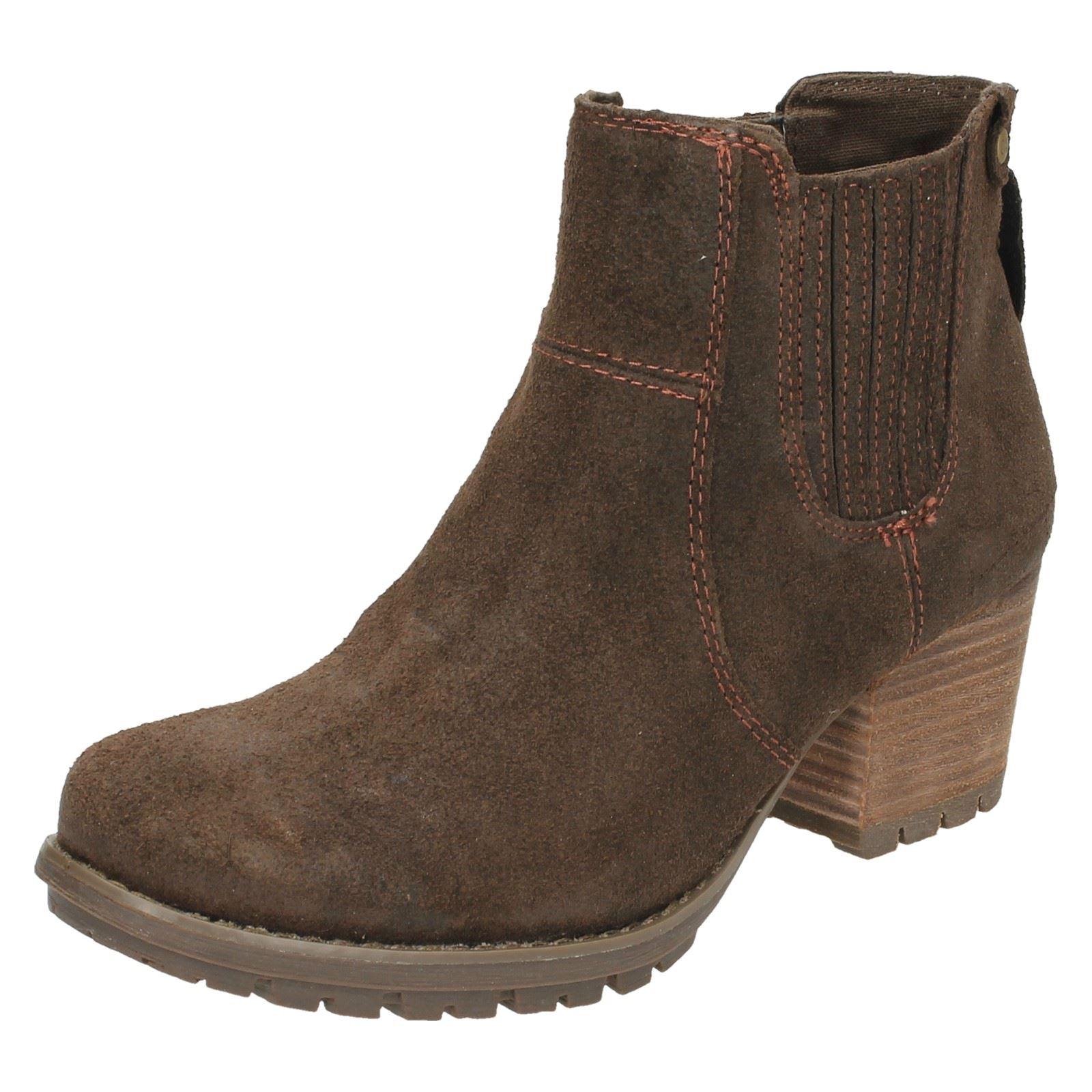 Ladies-Caterpillar-Allison-Slip-On-Ankle-Boots