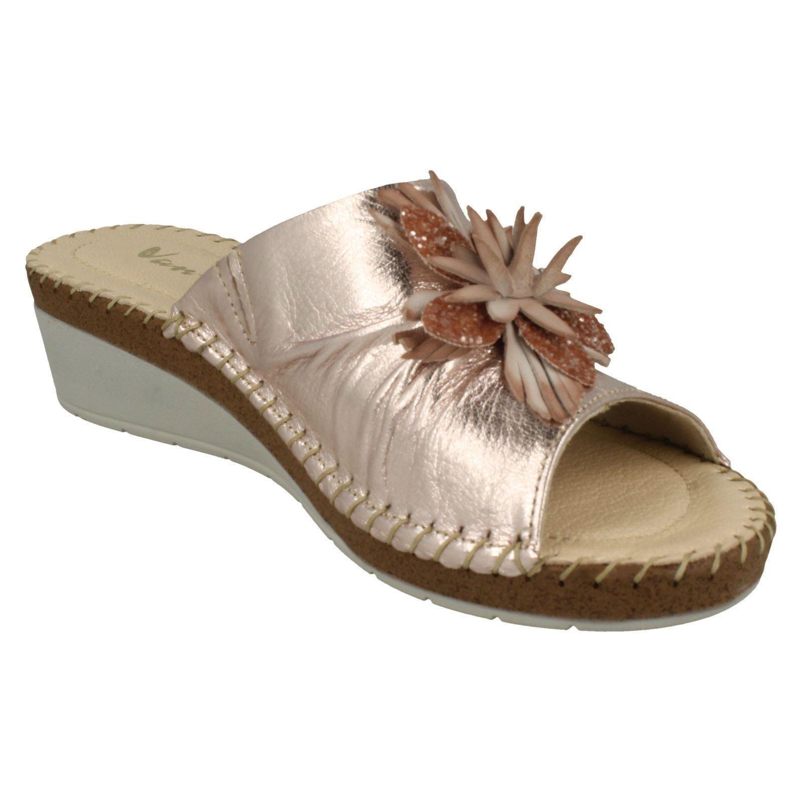 Ladies-Van-Dal-Wedge-Heel-Mule-Sandals-039-Banks-039 thumbnail 3