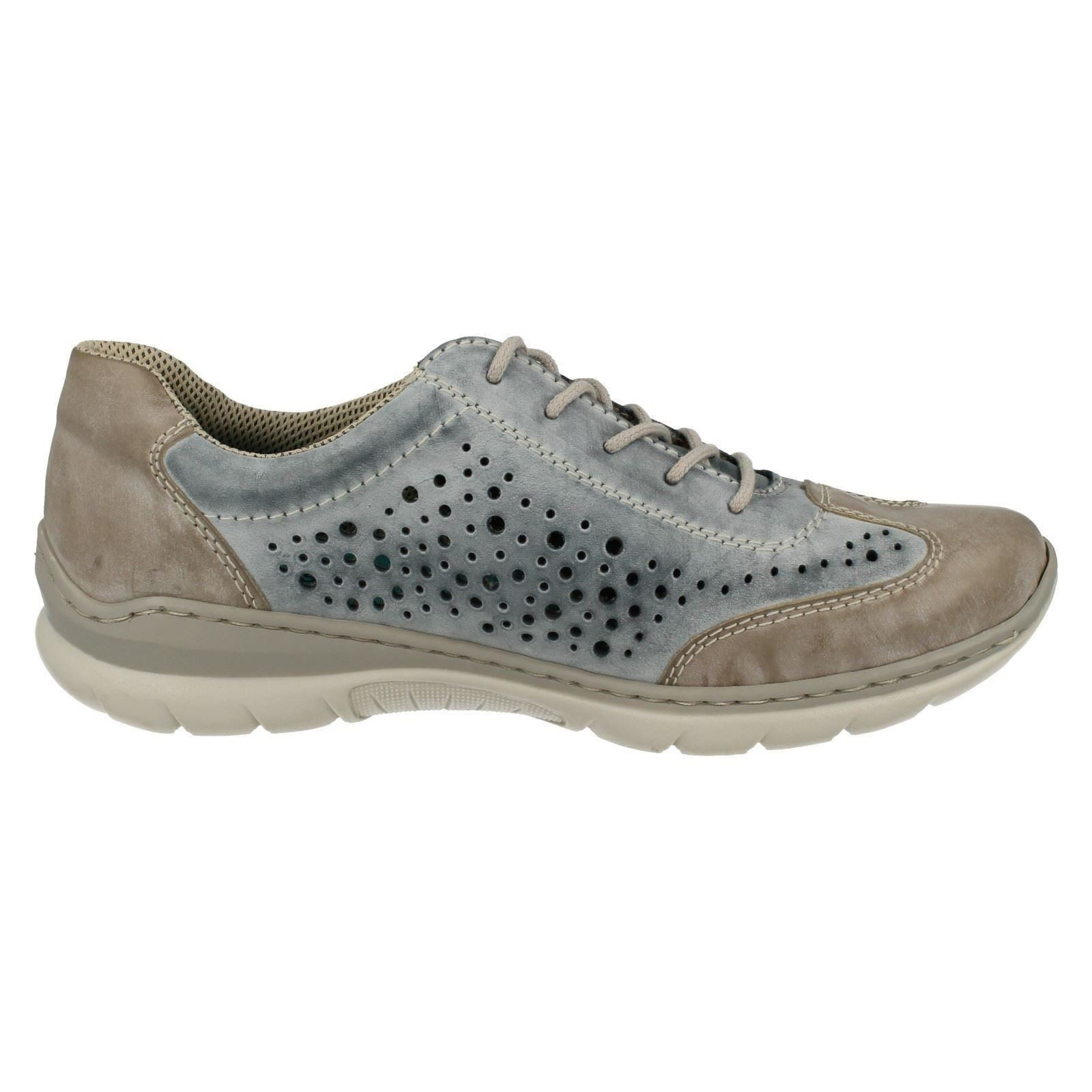 Ladies Rieker Lace Up Trainers