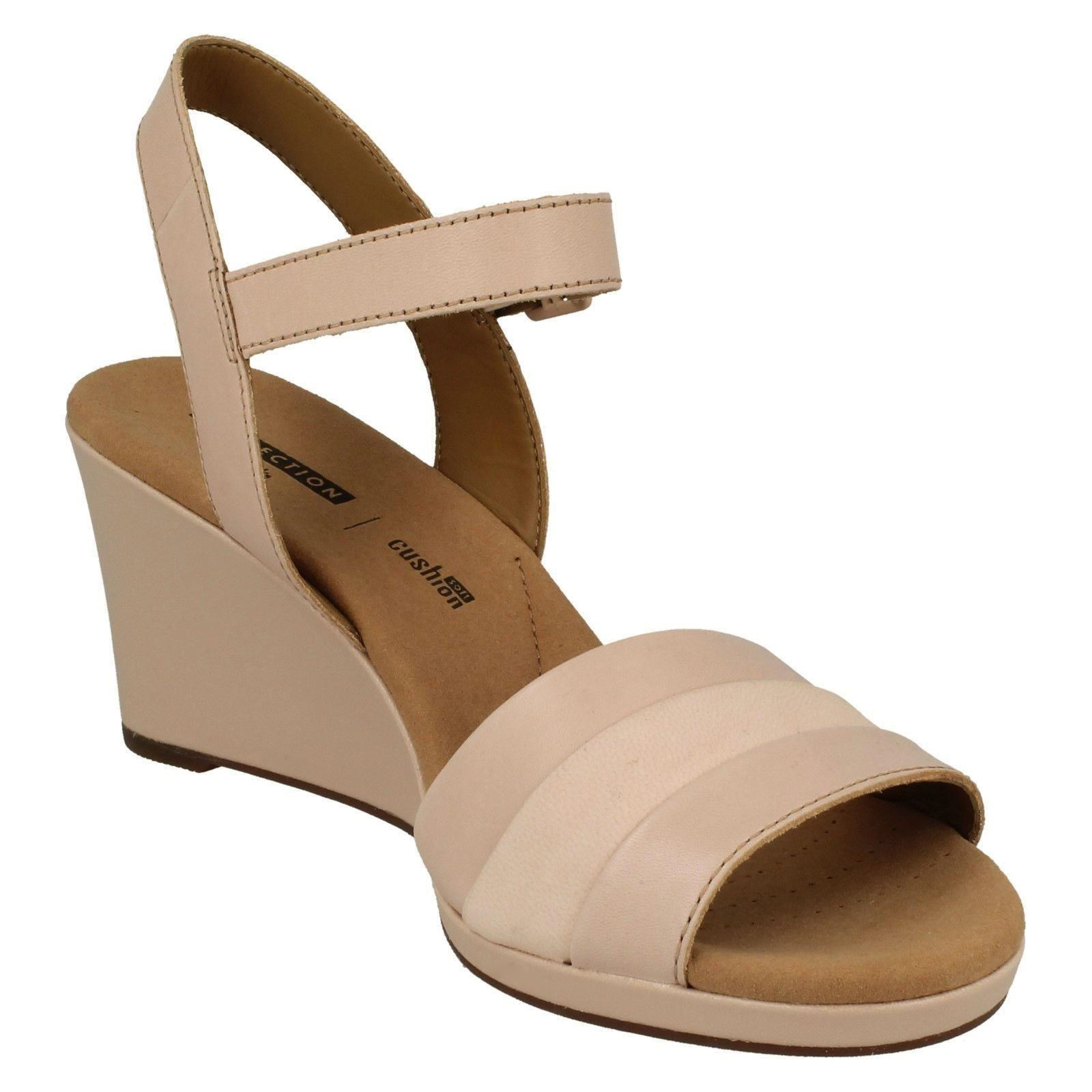 Damenschuhe Clarks Wedged Heel Sandales Sandales Sandales Lafley Aletha 2ca57b