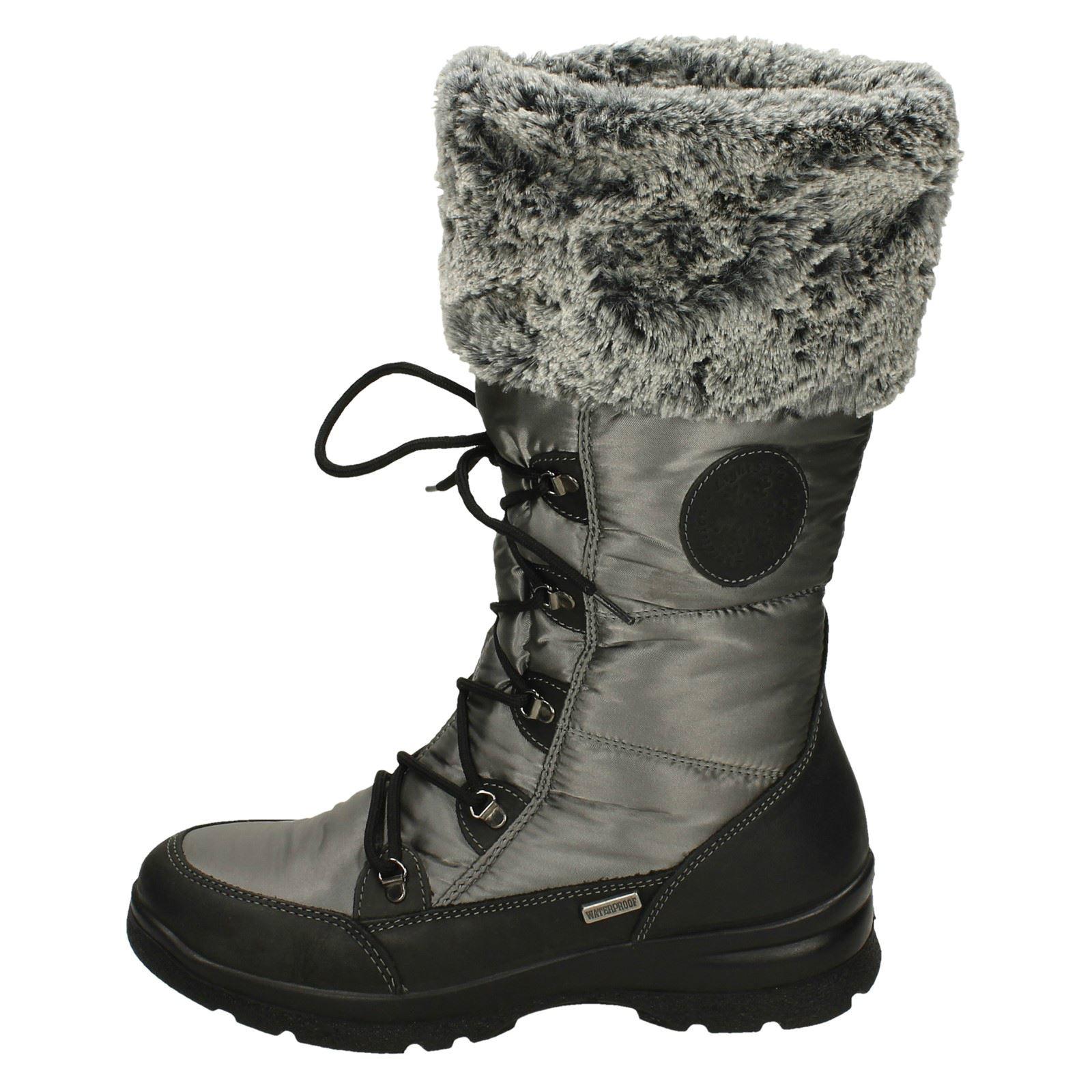 black Havelock Boots Snow Ladies Grey Dal grey Van fqYHwTz
