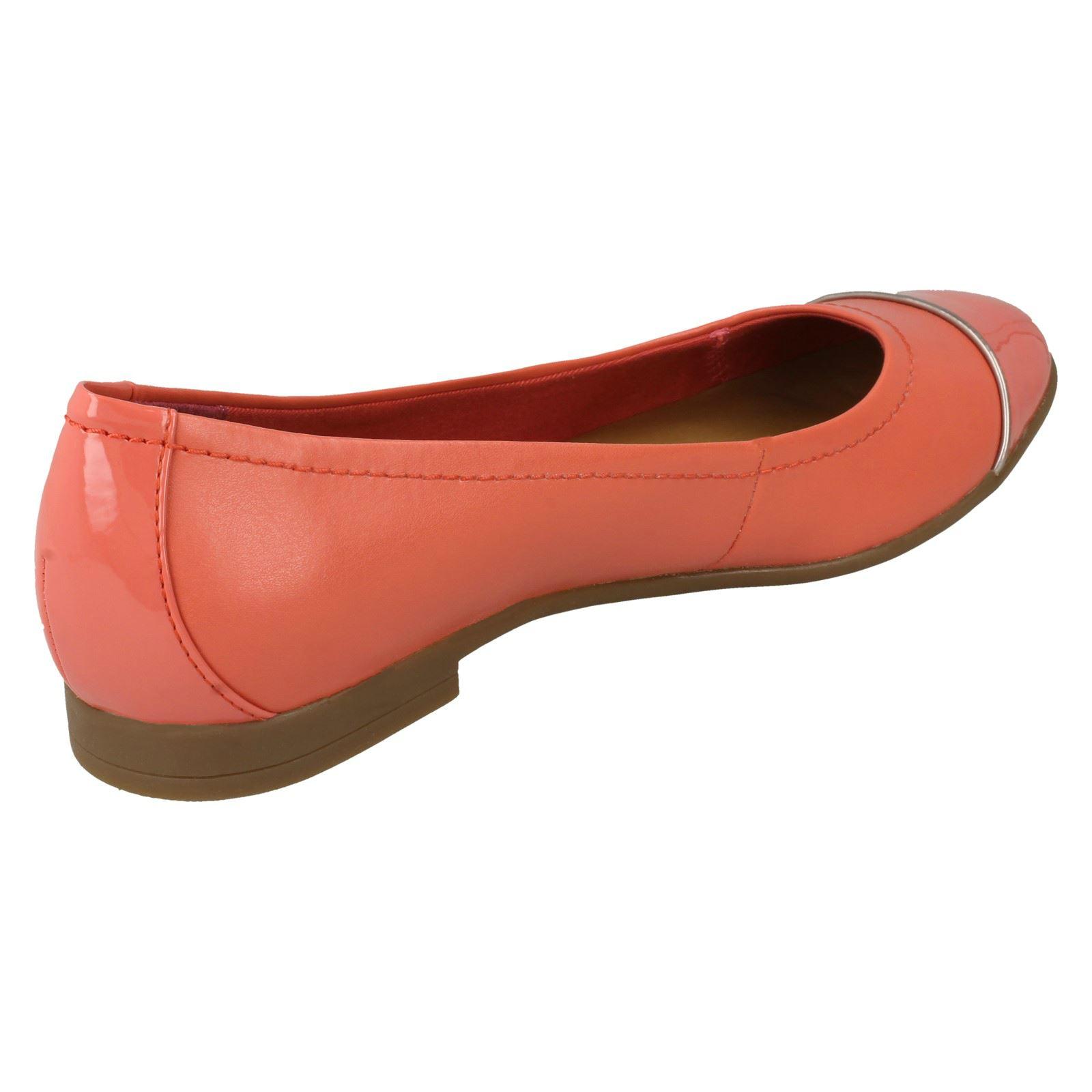 Clarks Ladies Slip On Shoes - Atomic
