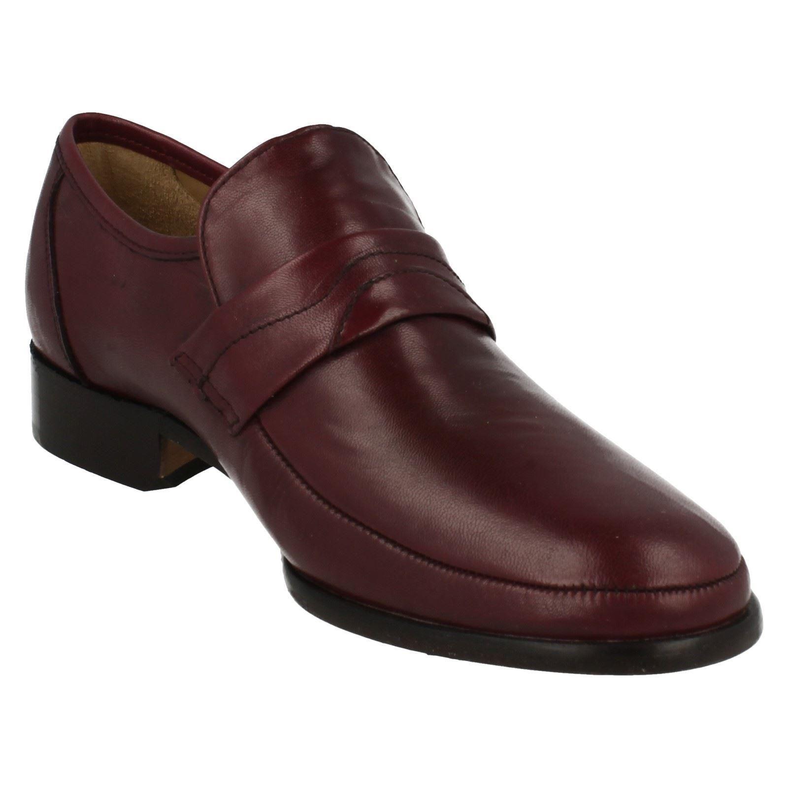 Mens Thomas Blaunt Blaunt Blaunt Swindon Leather Slip On schuhe f9bb5b