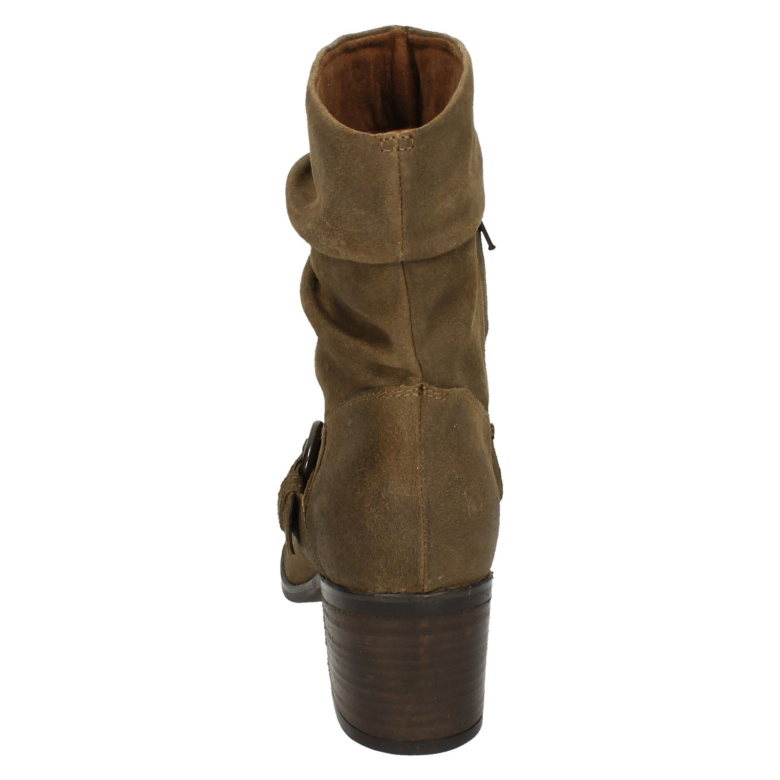 Clarks Mauritiuschic beige Slouch Damas Boots Sand dwa1qng8