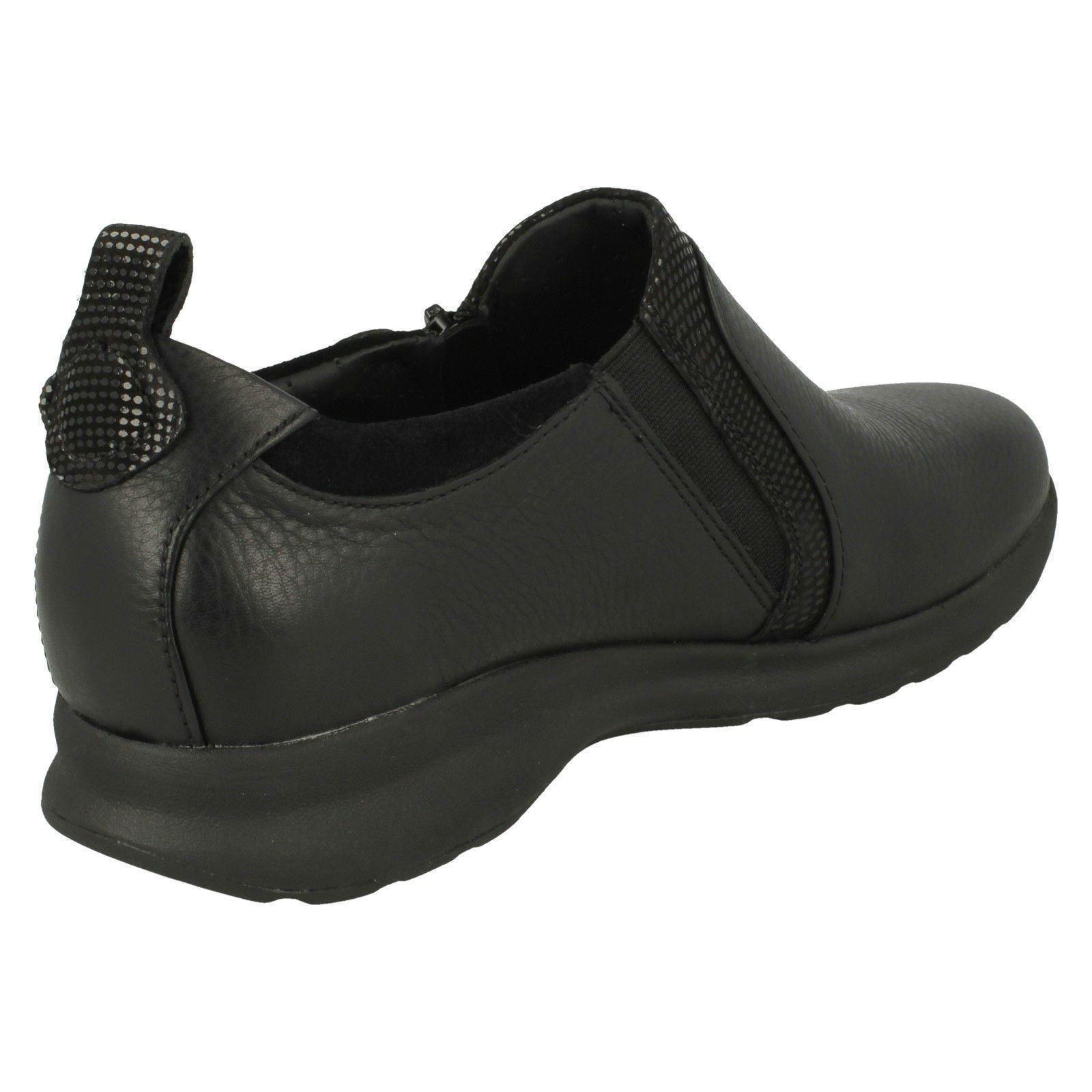 'Ladies Clarks' Clarks' Clarks' Unstructured Slip On shoes - Un Adorn Zip 59217d