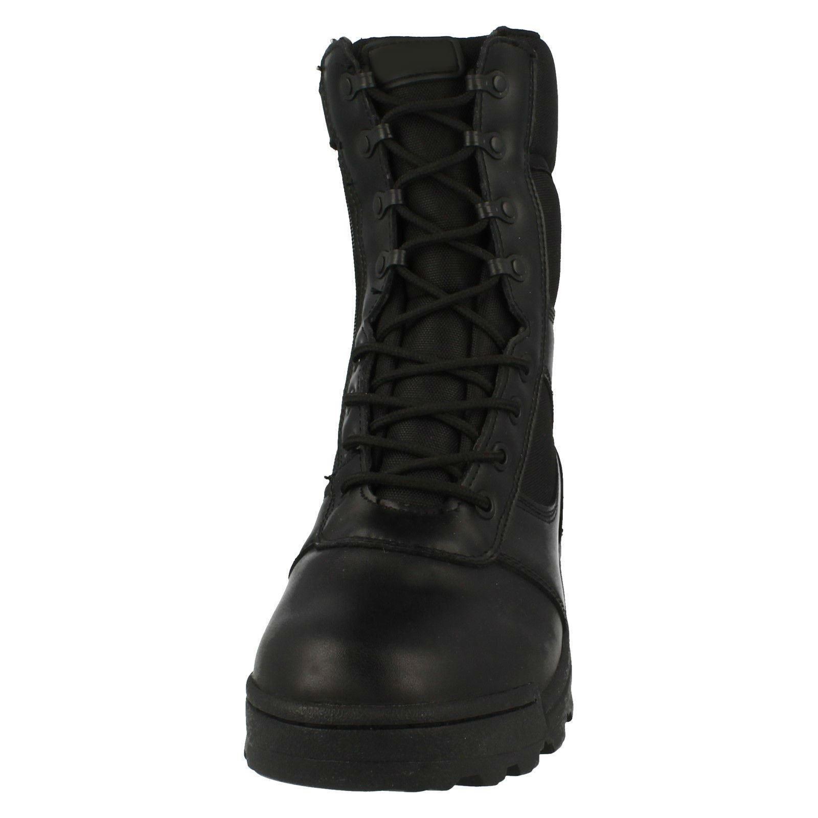 Boots Zipper Black max Mens Dura qta4UU