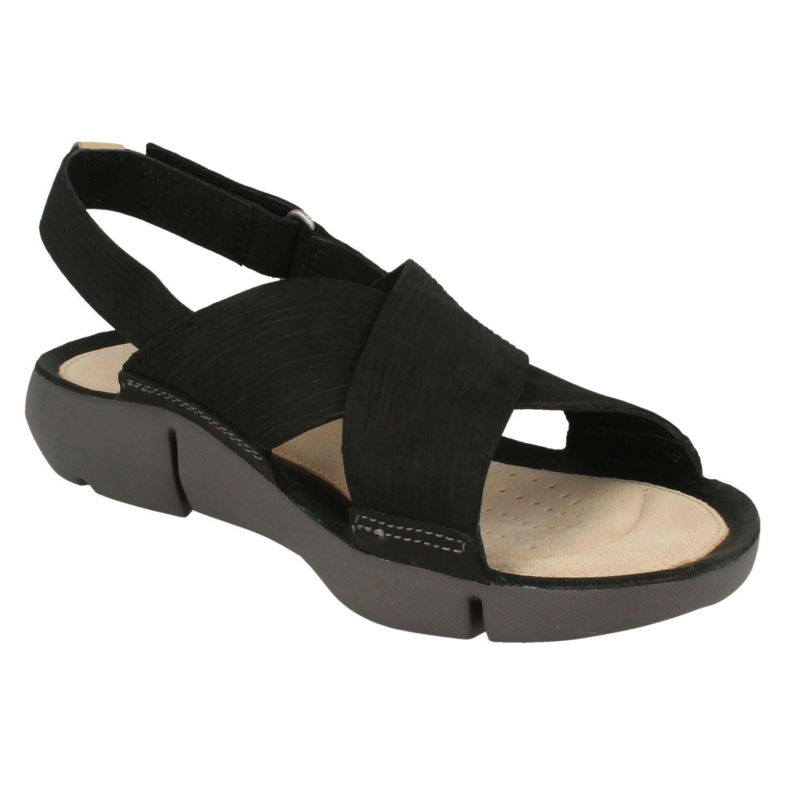 Details zu Ladies Clarks Slingback Flat Sandals Tri Chloe