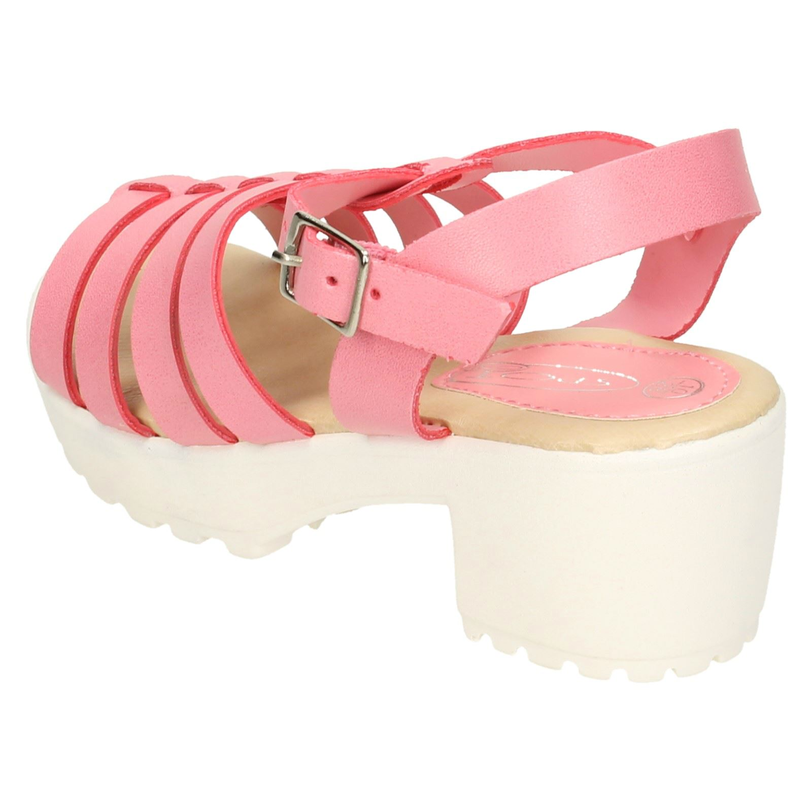 Spot On Girls Heeled Sandals - H1R066