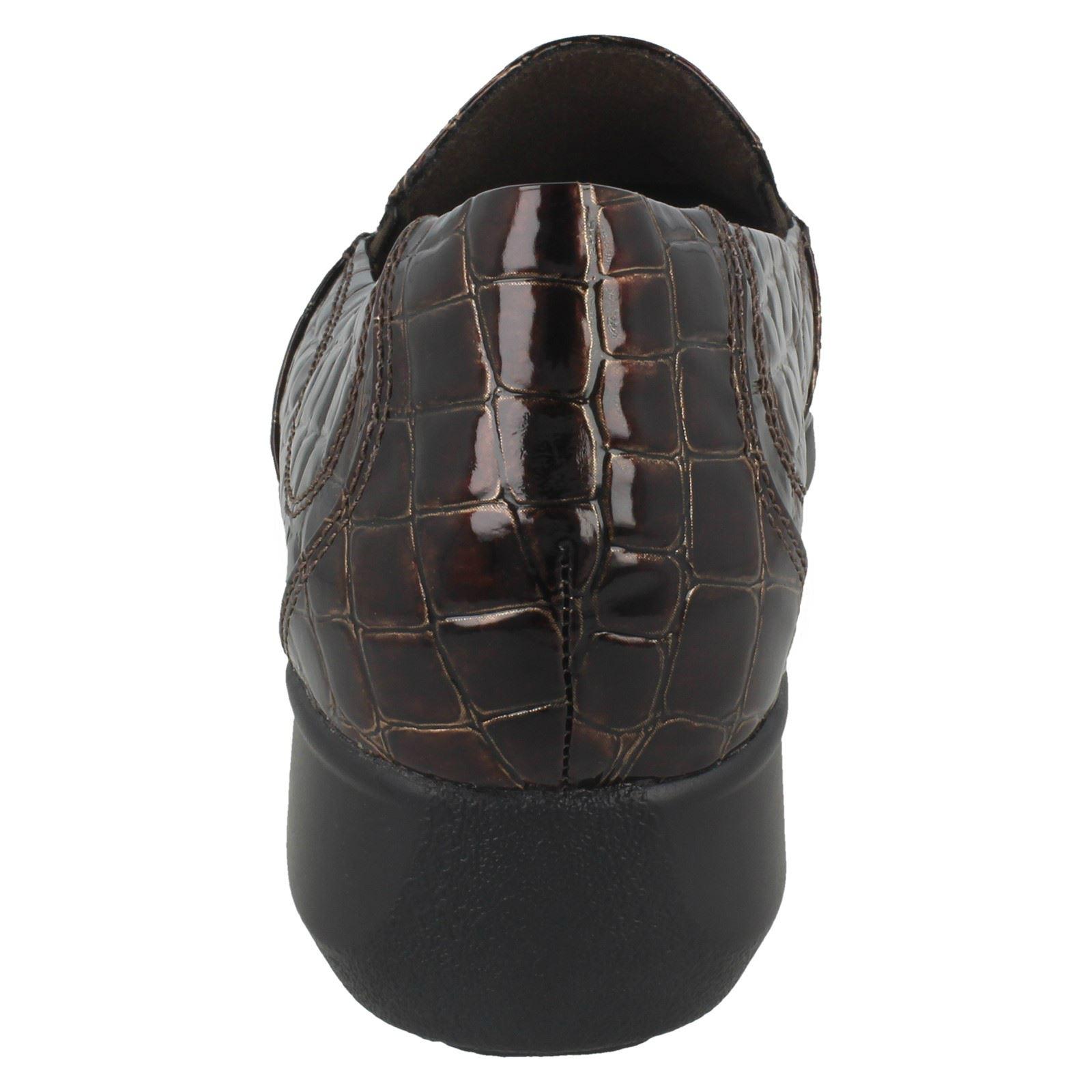 Shoes Brown Slip On Clarks Angora' Ladies 'gael 7nxt1A6zq