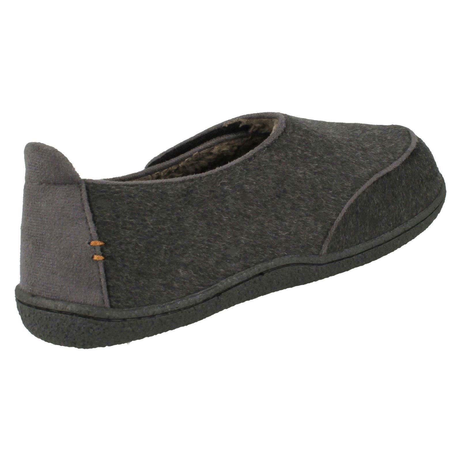 Mens Clarks Warm Lined Slippers Relaxed Charm