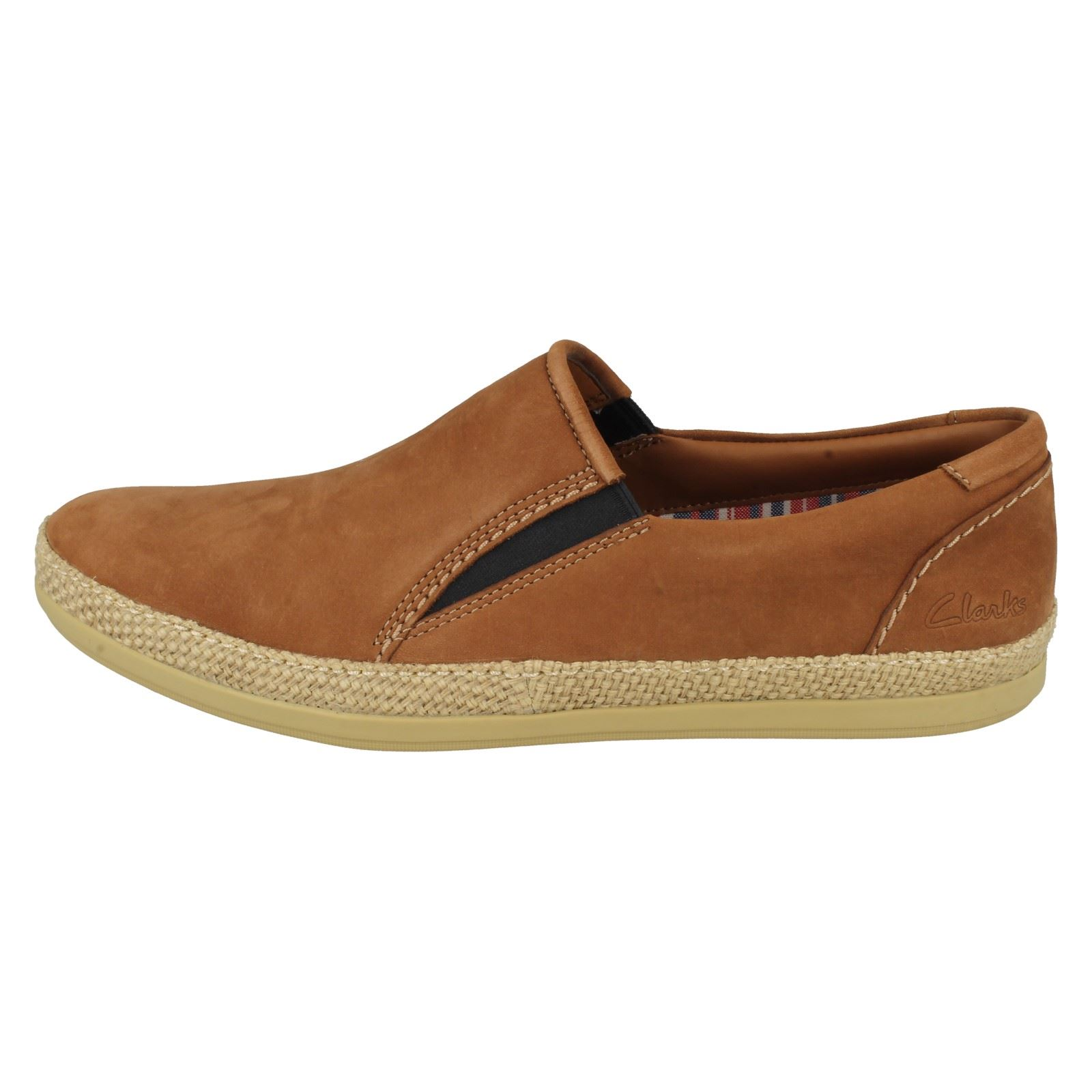 Nubuck On Slip Clarks Step Chaussures Casual Mask Hommes Tabac Oq8fvwS