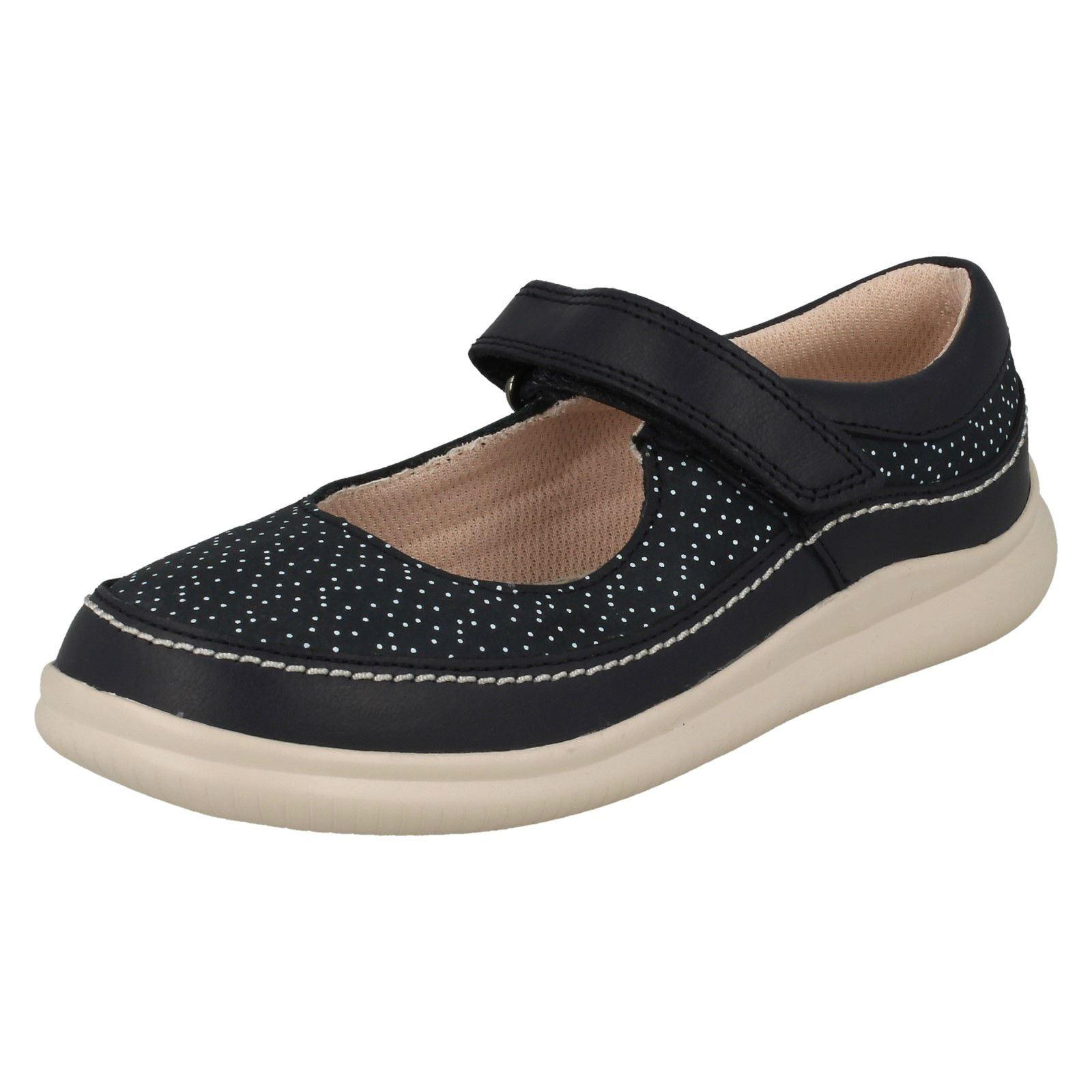 Niñas Fiesta Zapato Casual Cloud Navy Clarks azul rqRrOwHP