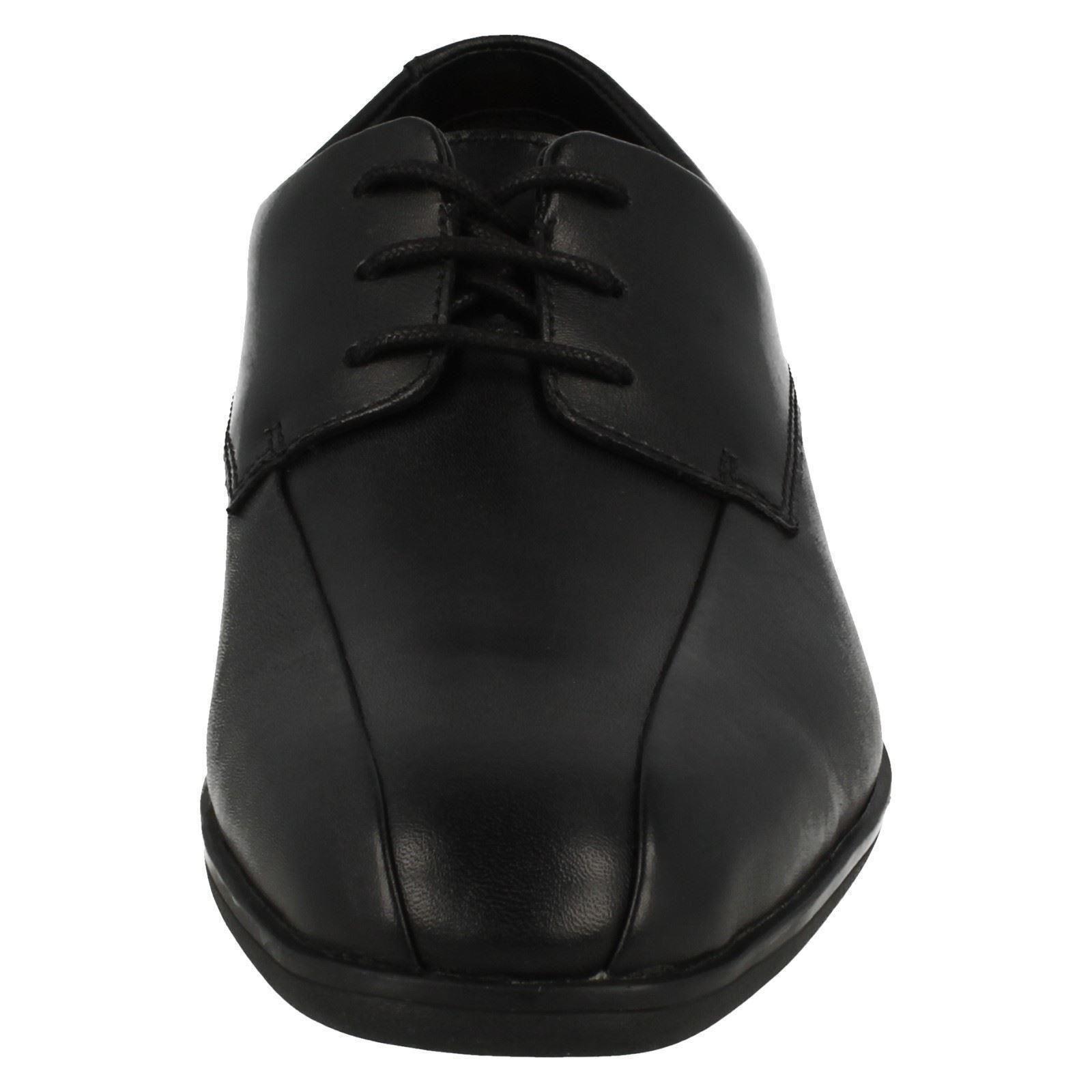 Boys-Clarks-School-Shoes-039-Willis-Lad-039