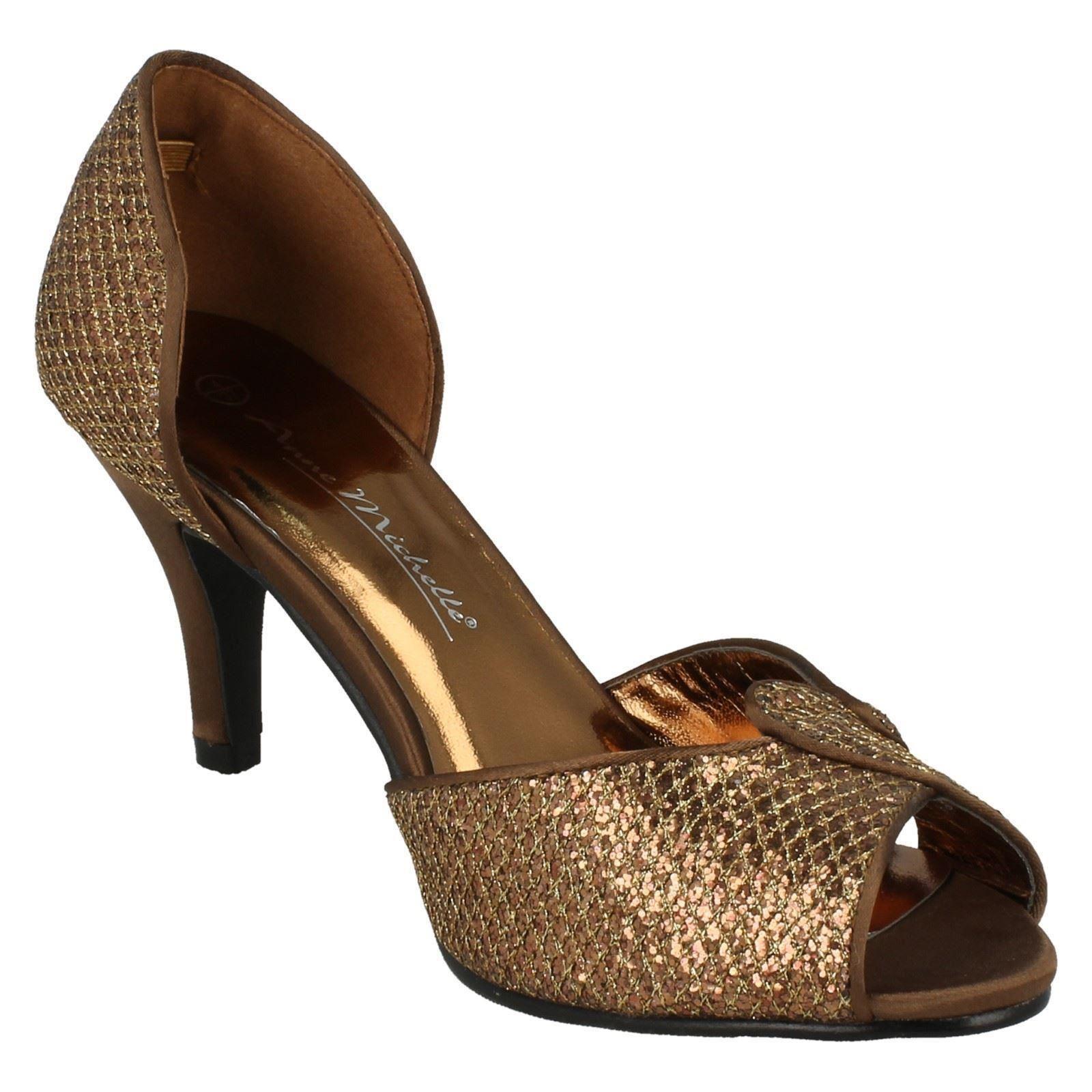 Damen Anne Michelle ohne Bügel Absatz Schuhe