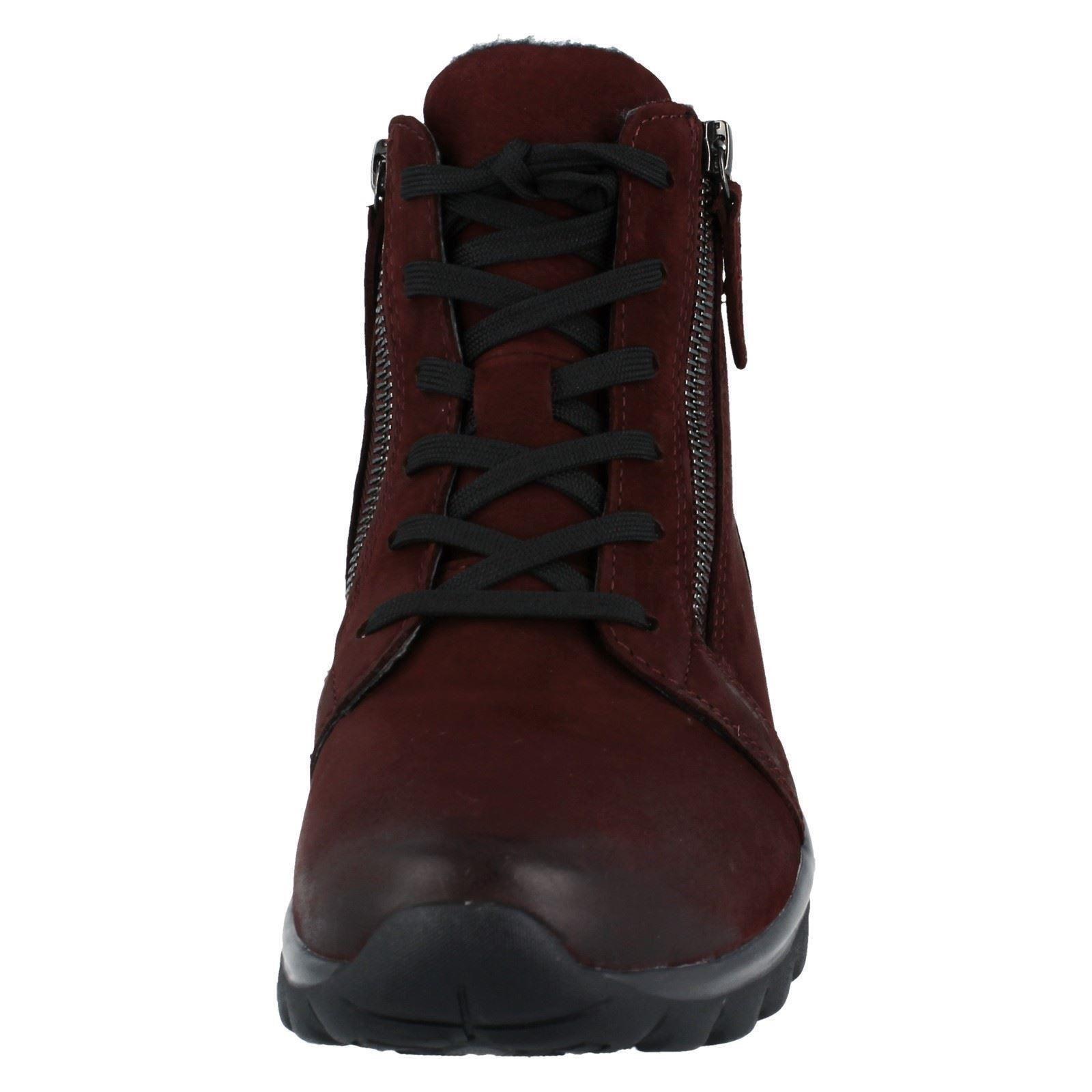 scuro donna rosso Stivali Gabor rosso 96958 da passeggio RHqap
