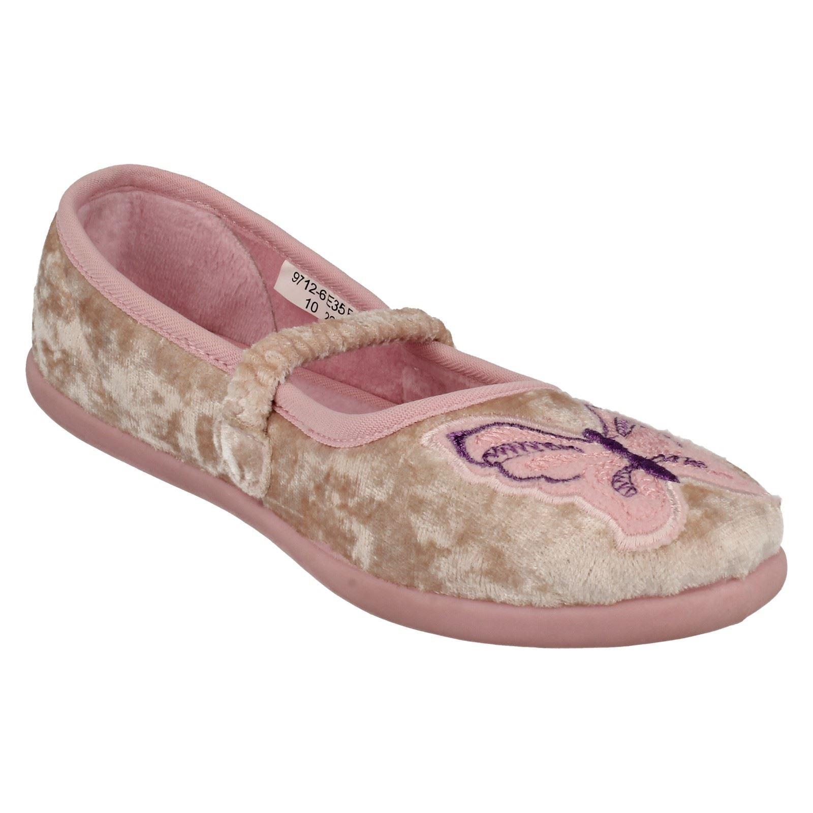 Girls Startrite Slippers Glimmer