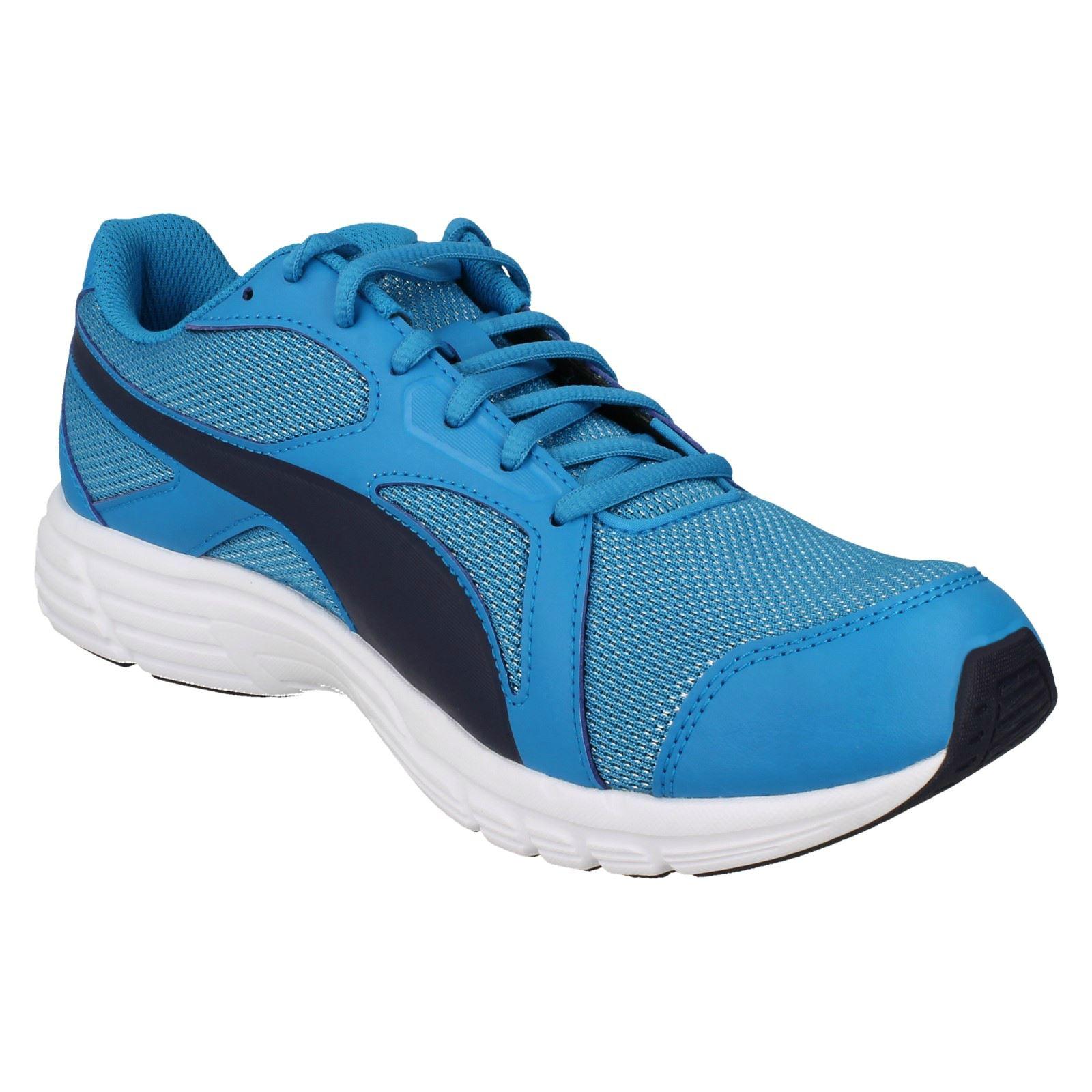 deporte Puma Atomic Blue blue mujer de V4 Up Axis para Zapatillas peacoat Lace 360581 Mesh ac5WnB