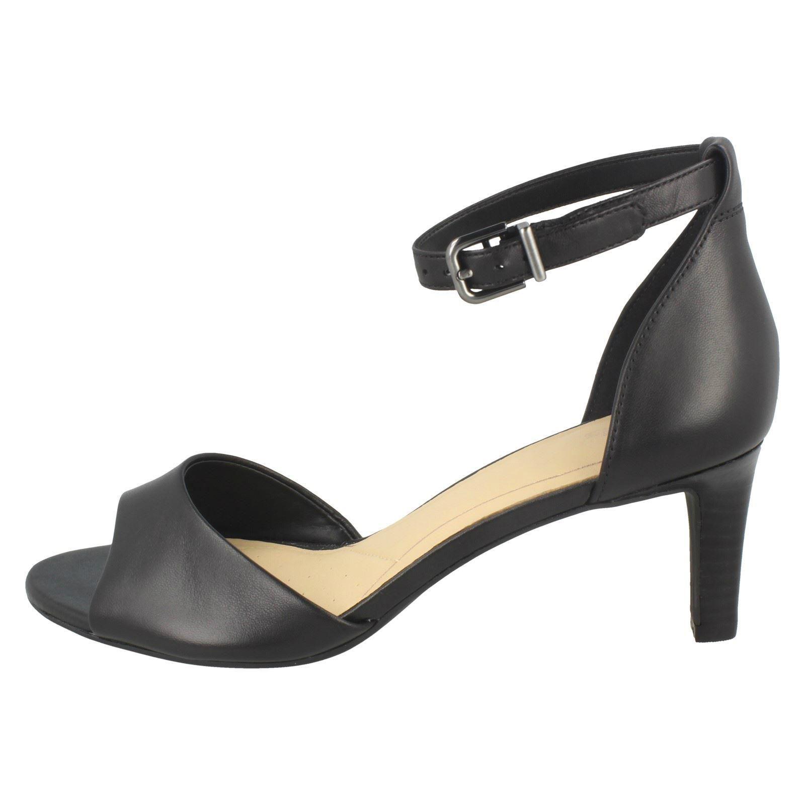 Ladies Clarks Elegant Stiletto Buckled Heeled Leather Sandals Laureti Laureti Laureti Grace 7e8ff2