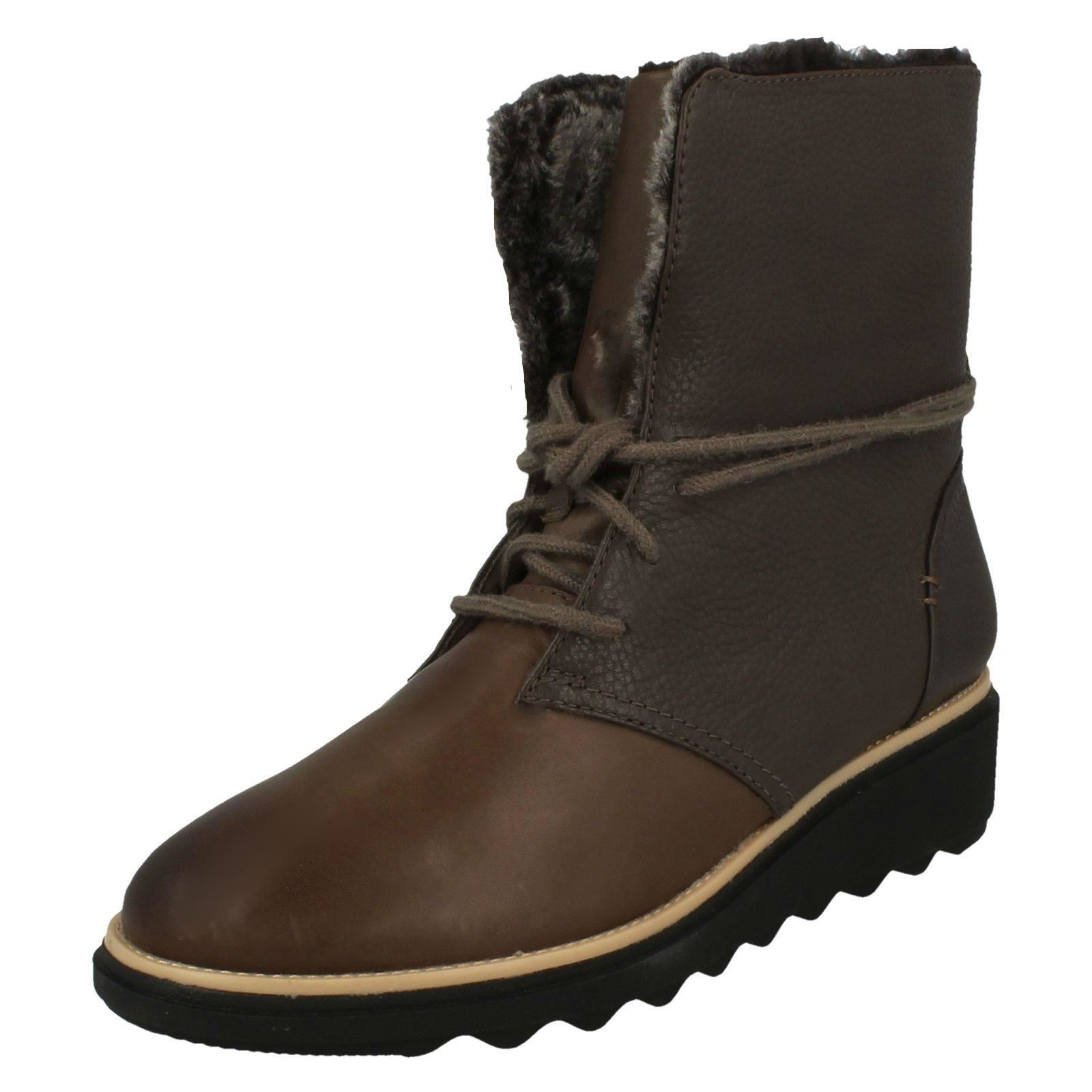 Womens-Clarks Winter Boots Sharon Pearl | eBay
