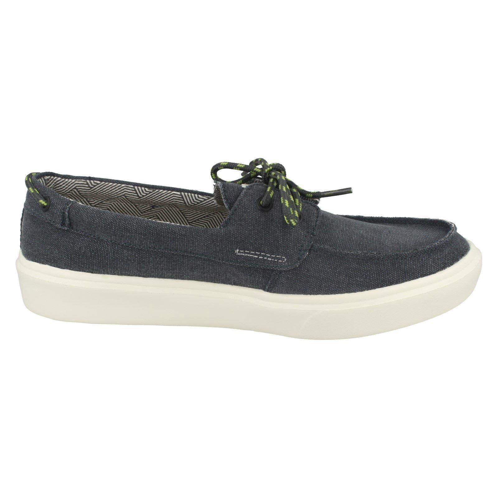 Mens Boat Hey Dude Lace Up Boat Mens Shoes 'Kola' 43991b
